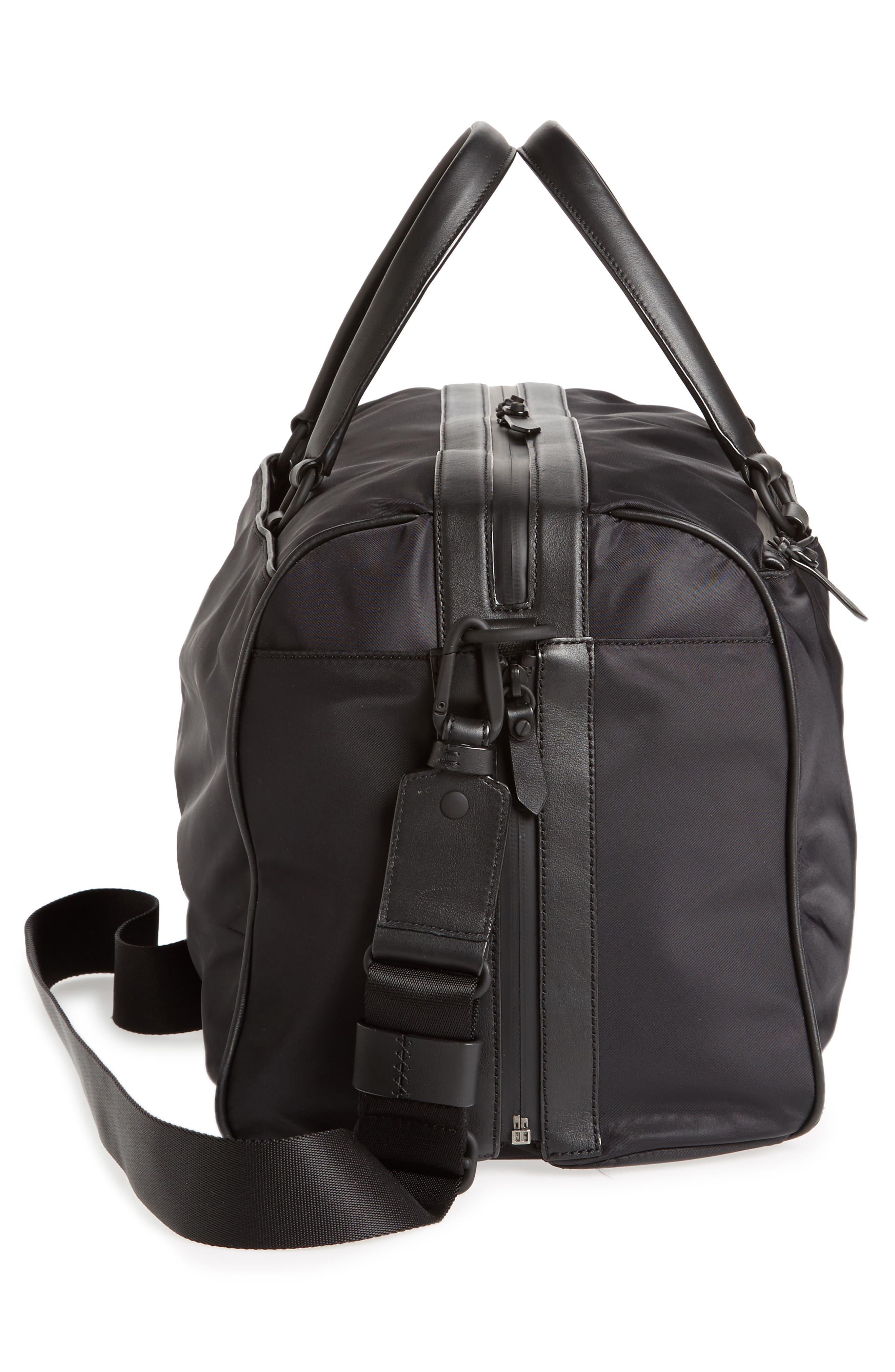 Everyday Nylon Duffel Bag,                             Alternate thumbnail 5, color,                             001