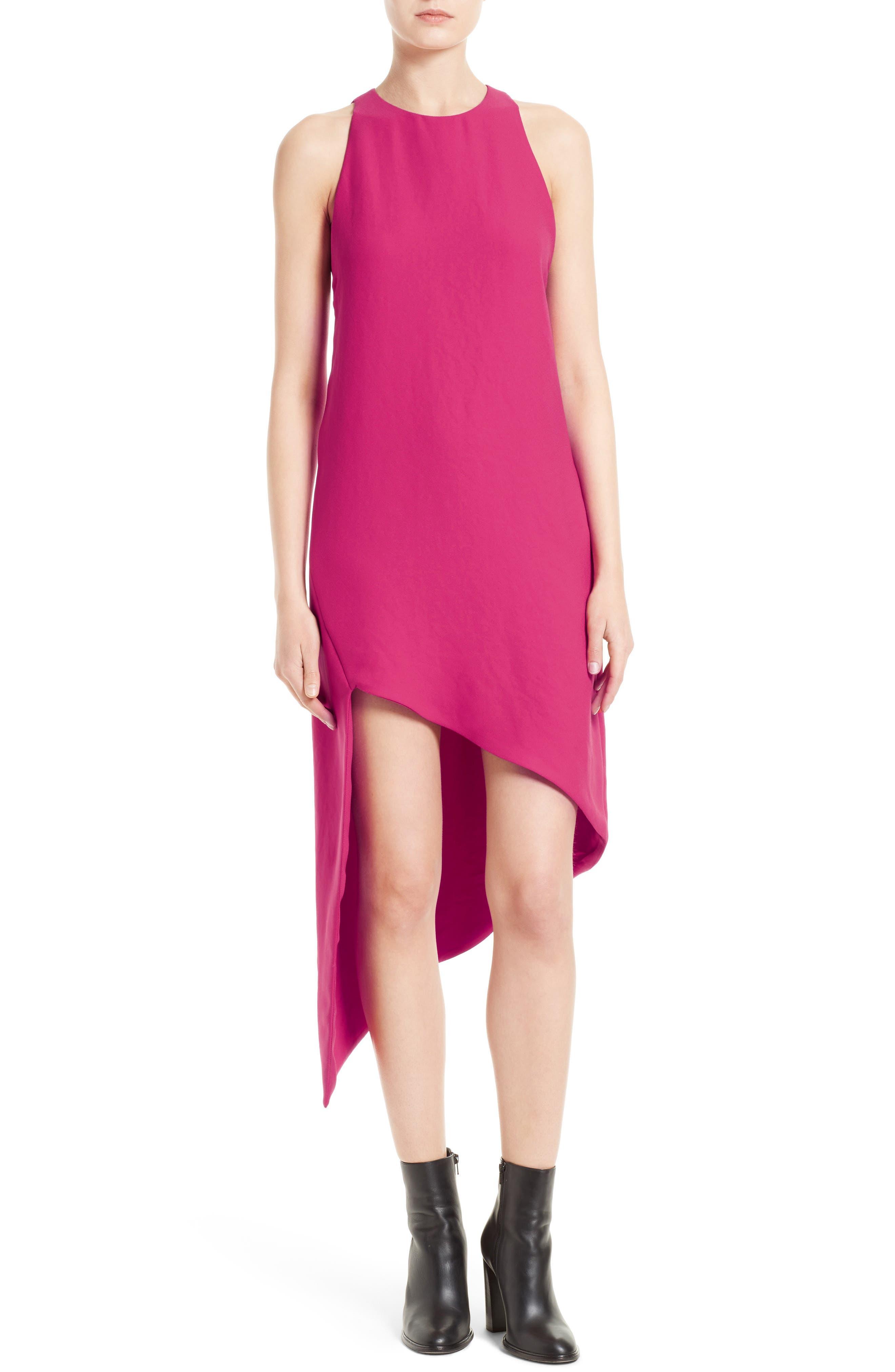 Hamlin Asymmetrical High/Low Dress,                             Main thumbnail 1, color,                             652