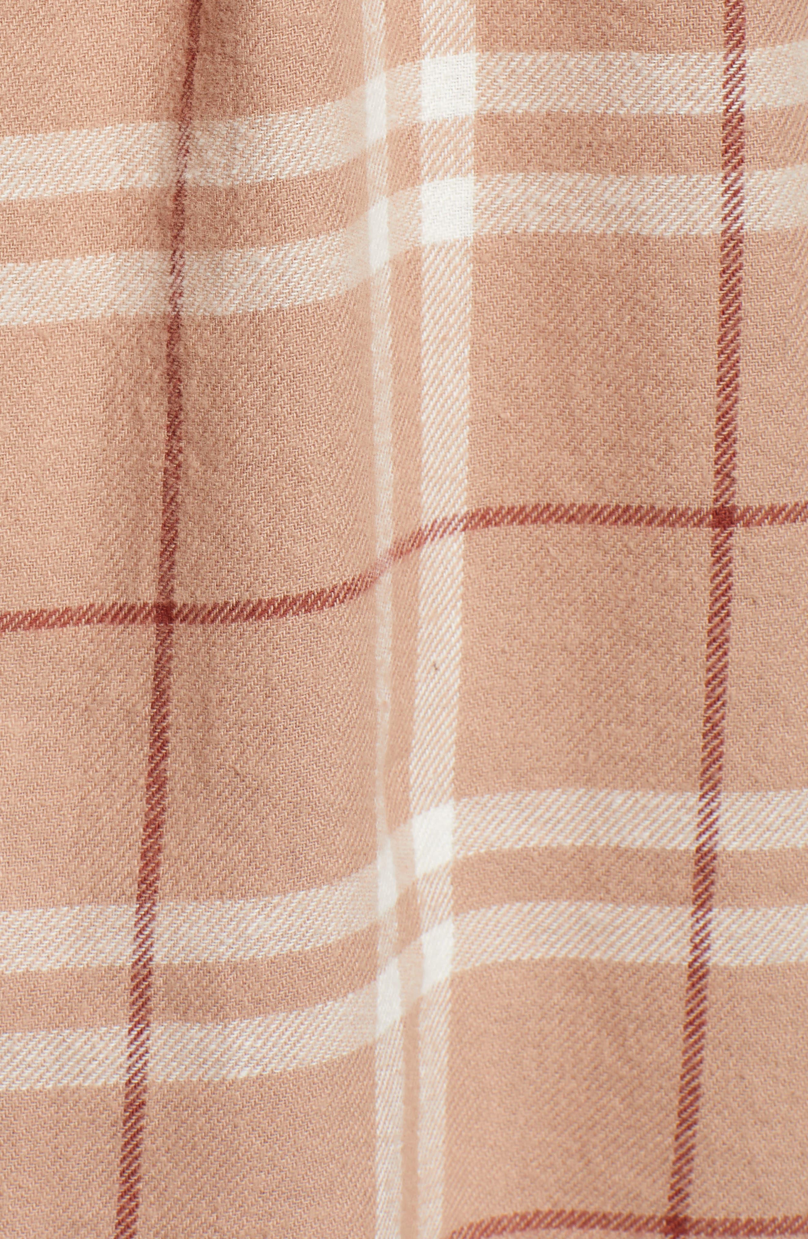 In a Haze Plaid Cotton Shirt,                             Alternate thumbnail 5, color,                             020