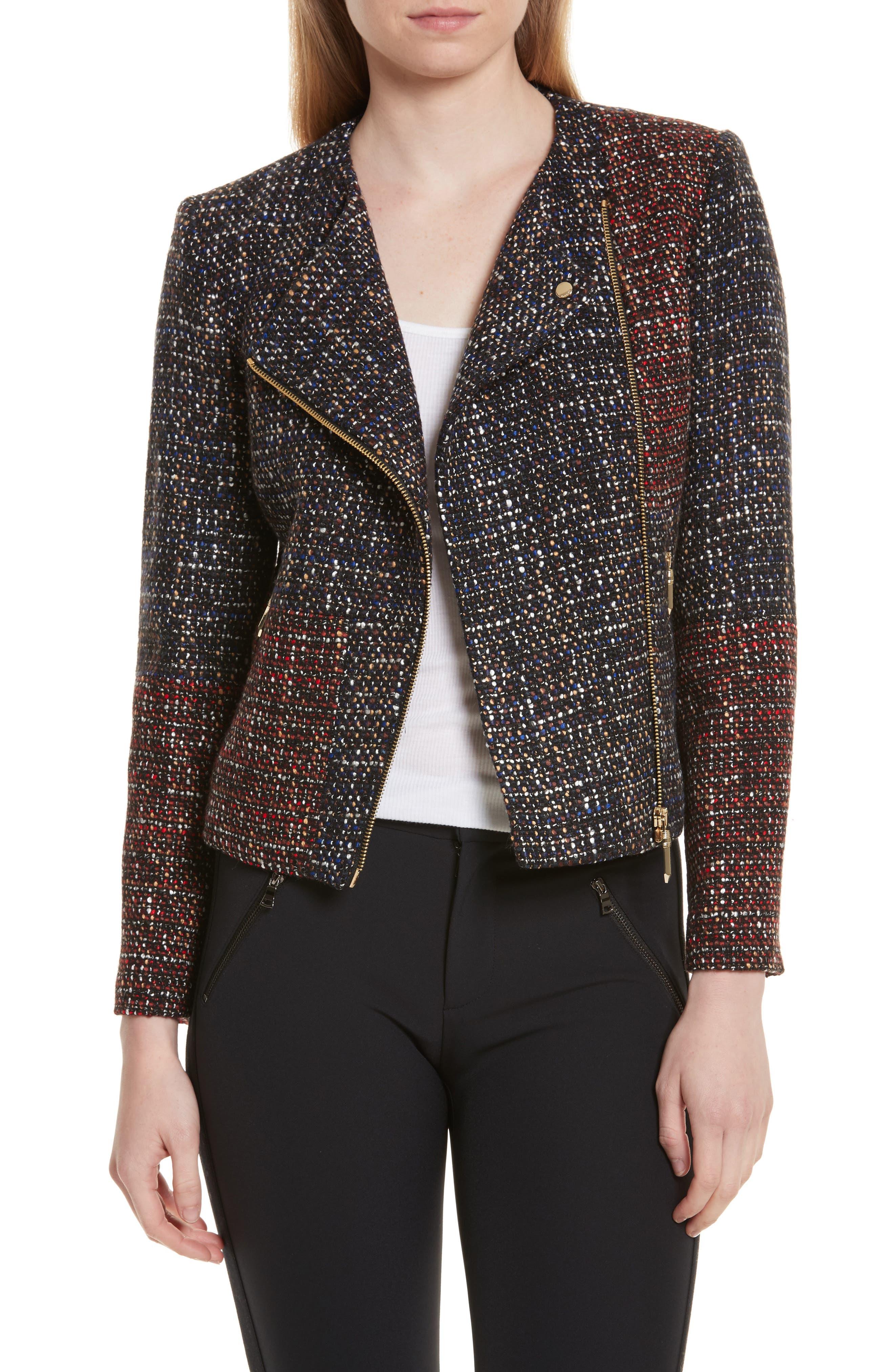 Phebbe Patchwork Jacket,                         Main,                         color, 421