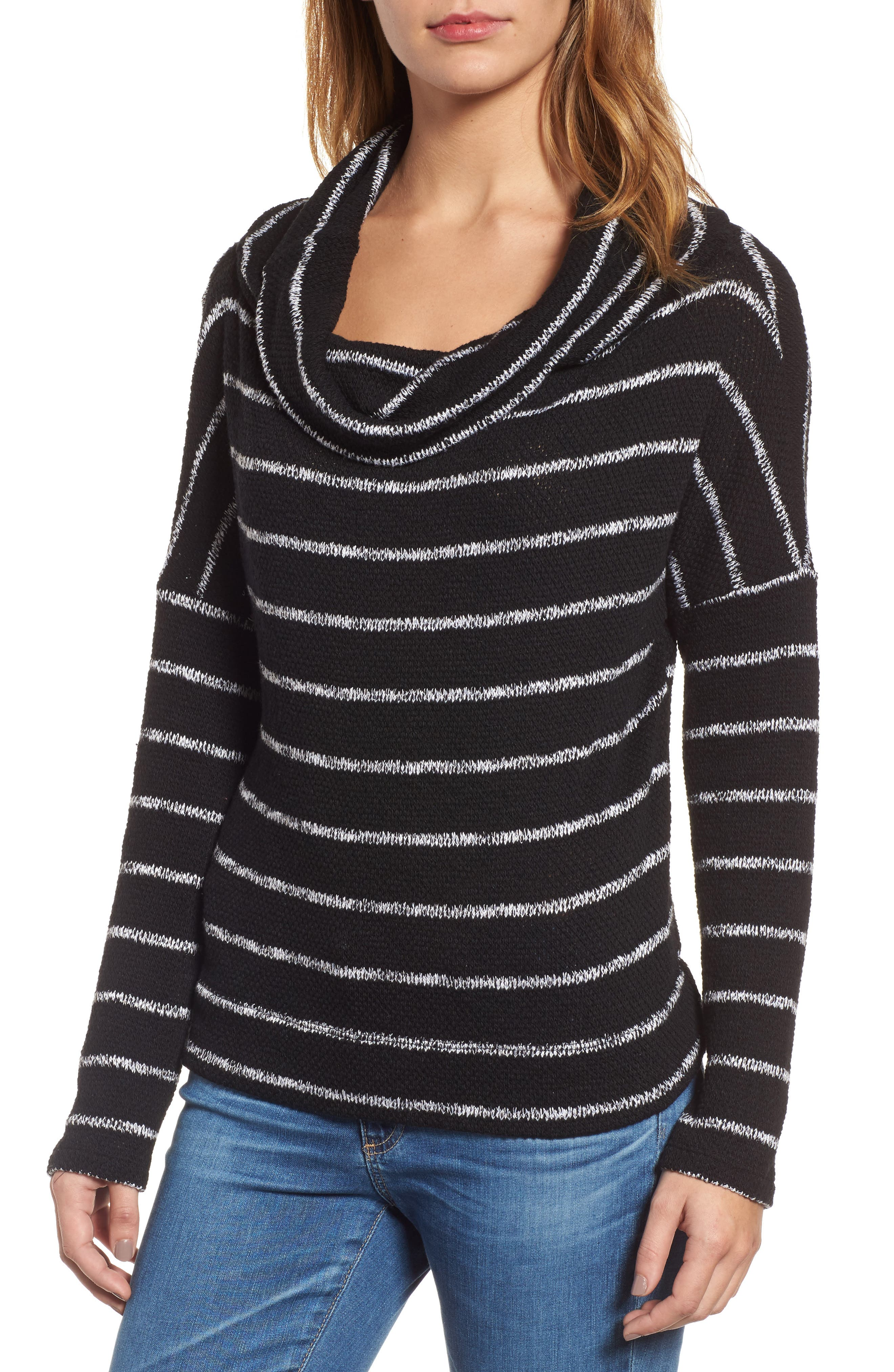 Convertible Off the Shoulder Pullover,                             Alternate thumbnail 4, color,                             002