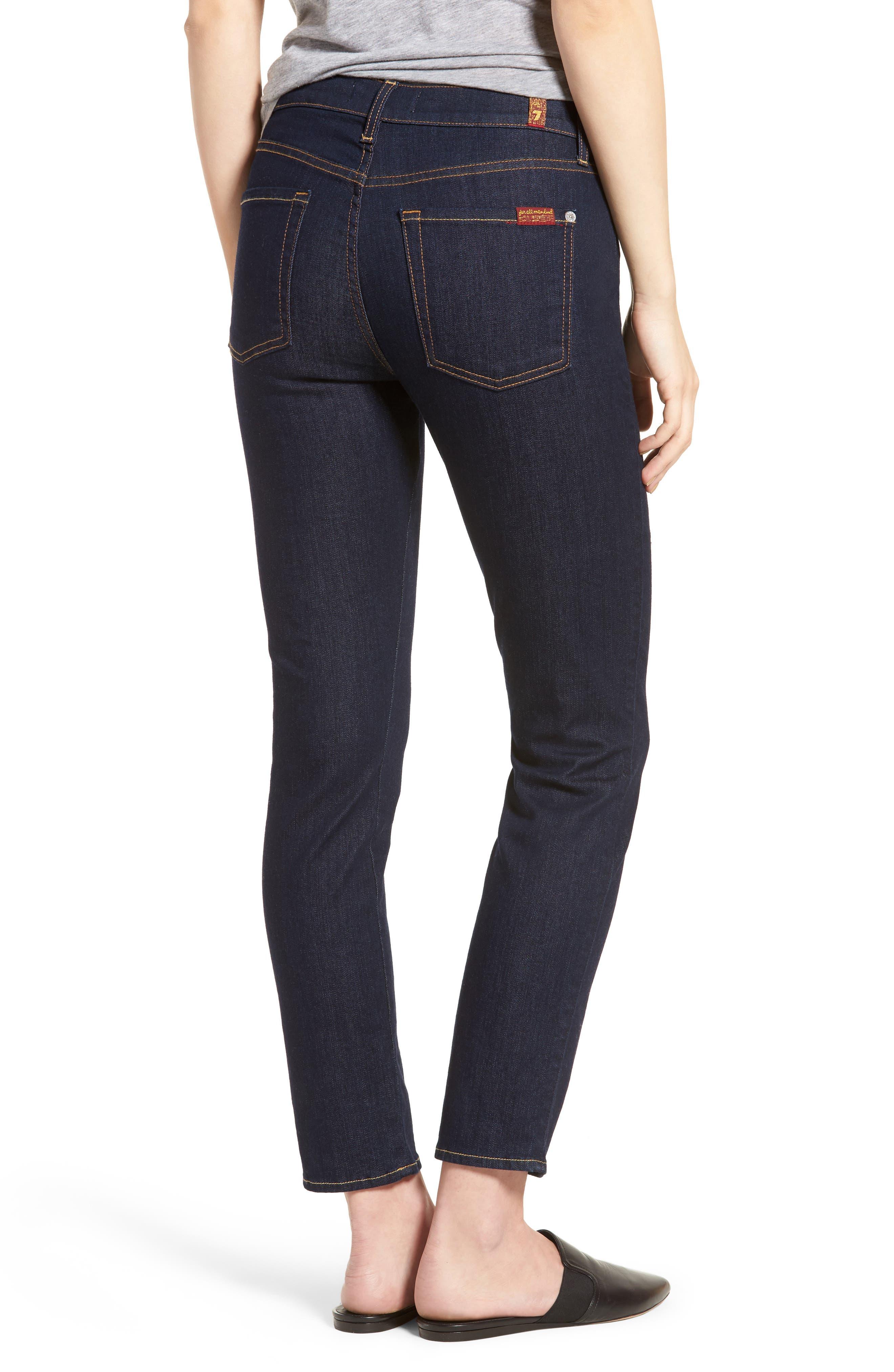 b(air) Roxanne Ankle Skinny Jeans,                             Alternate thumbnail 2, color,                             401