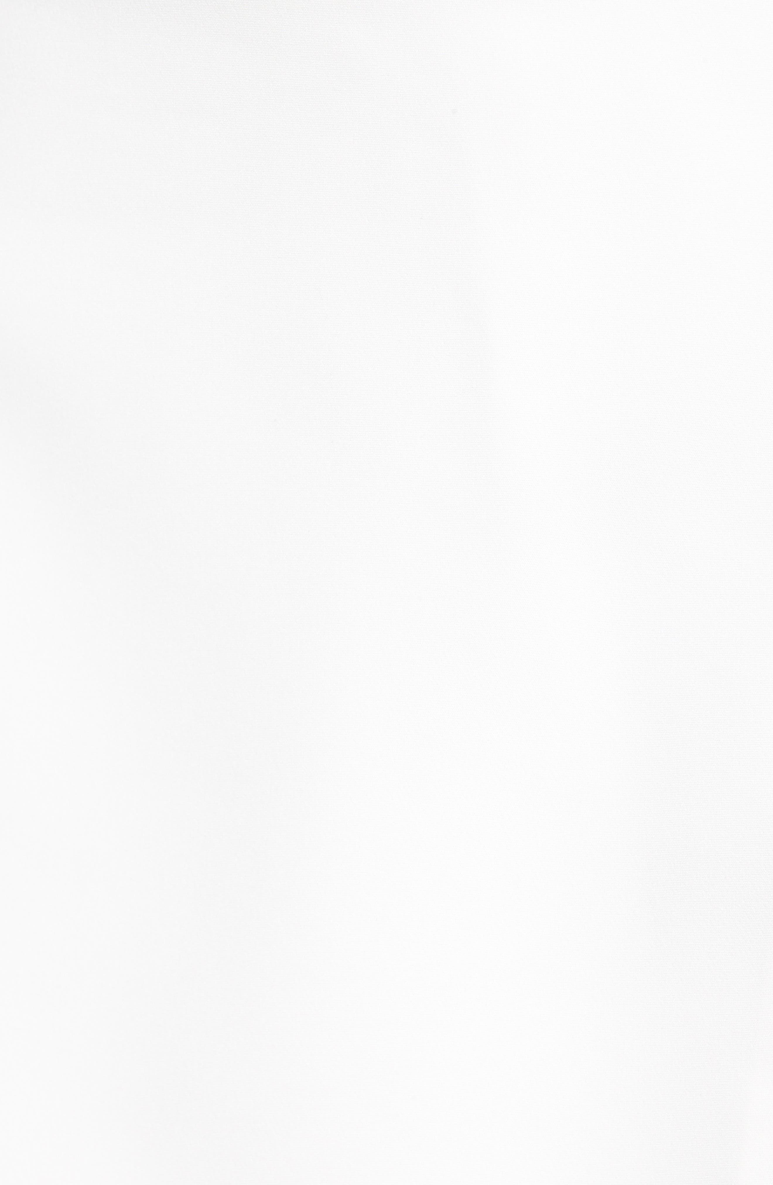 Satin Wrap Style Skort,                             Alternate thumbnail 5, color,                             WHITE