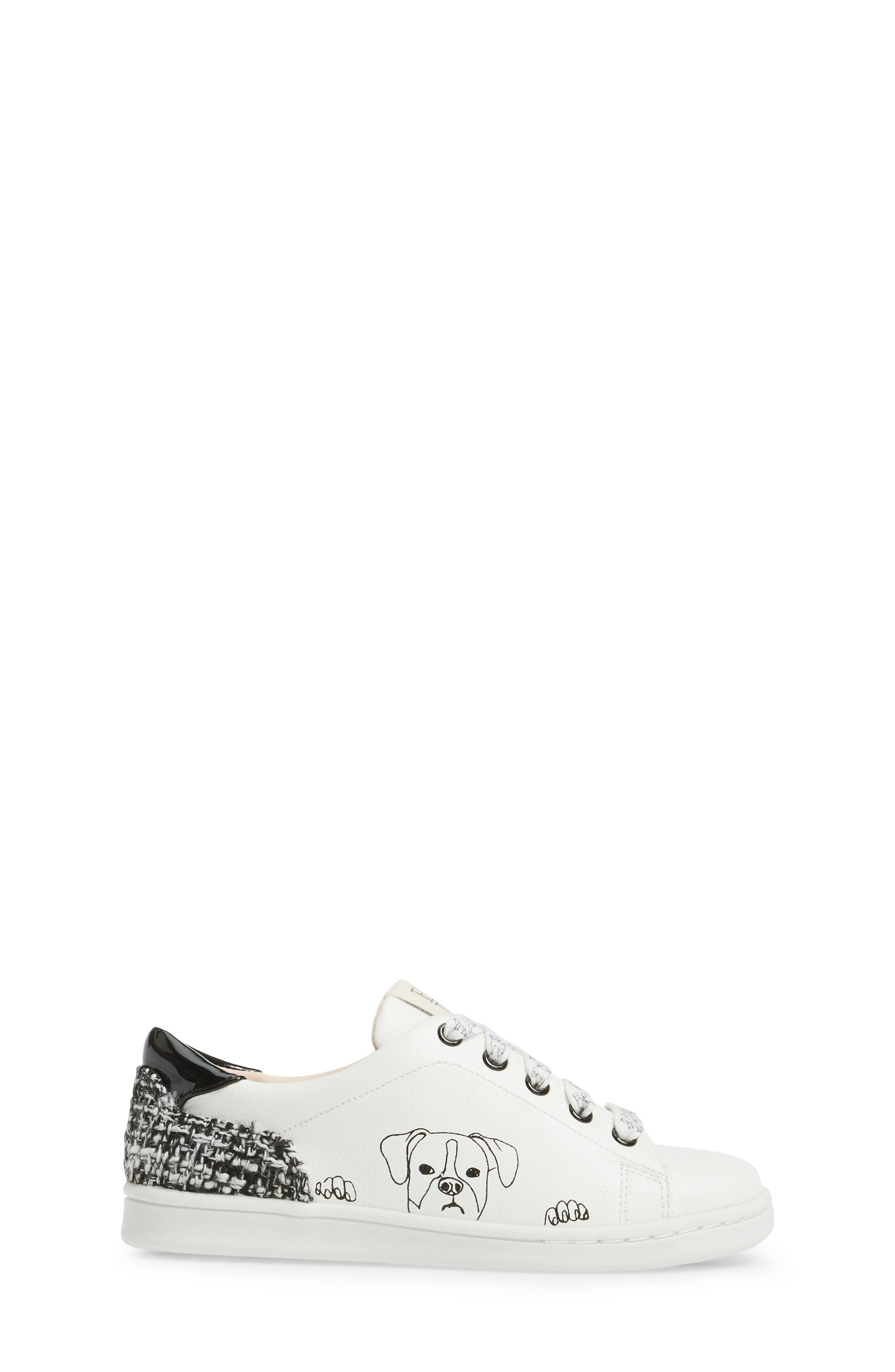 Chapapup Sneaker,                             Alternate thumbnail 3, color,                             WHITE