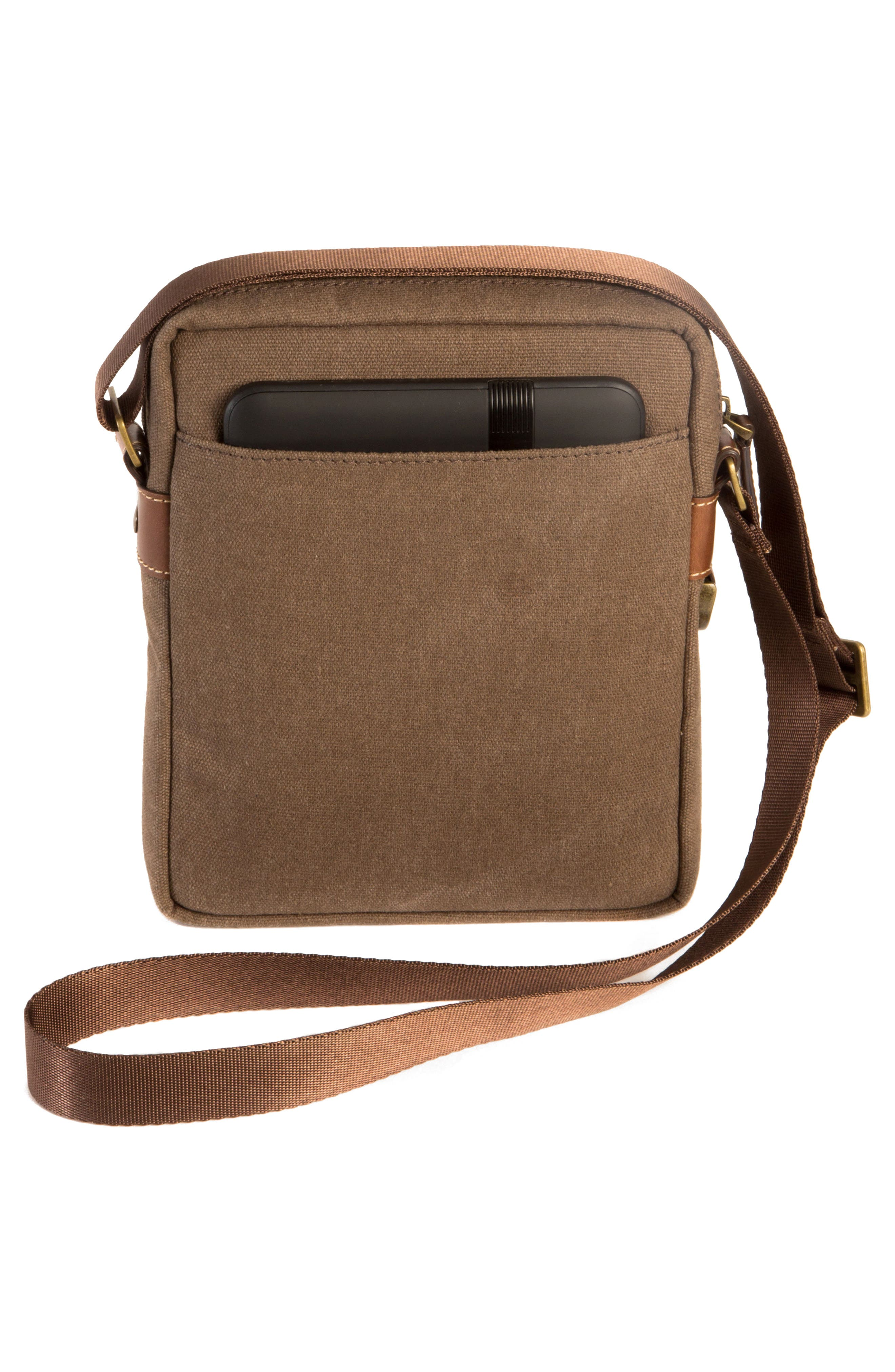 Bryant Crossbody Bag,                             Alternate thumbnail 2, color,                             MAHOGANY AND HEATHER