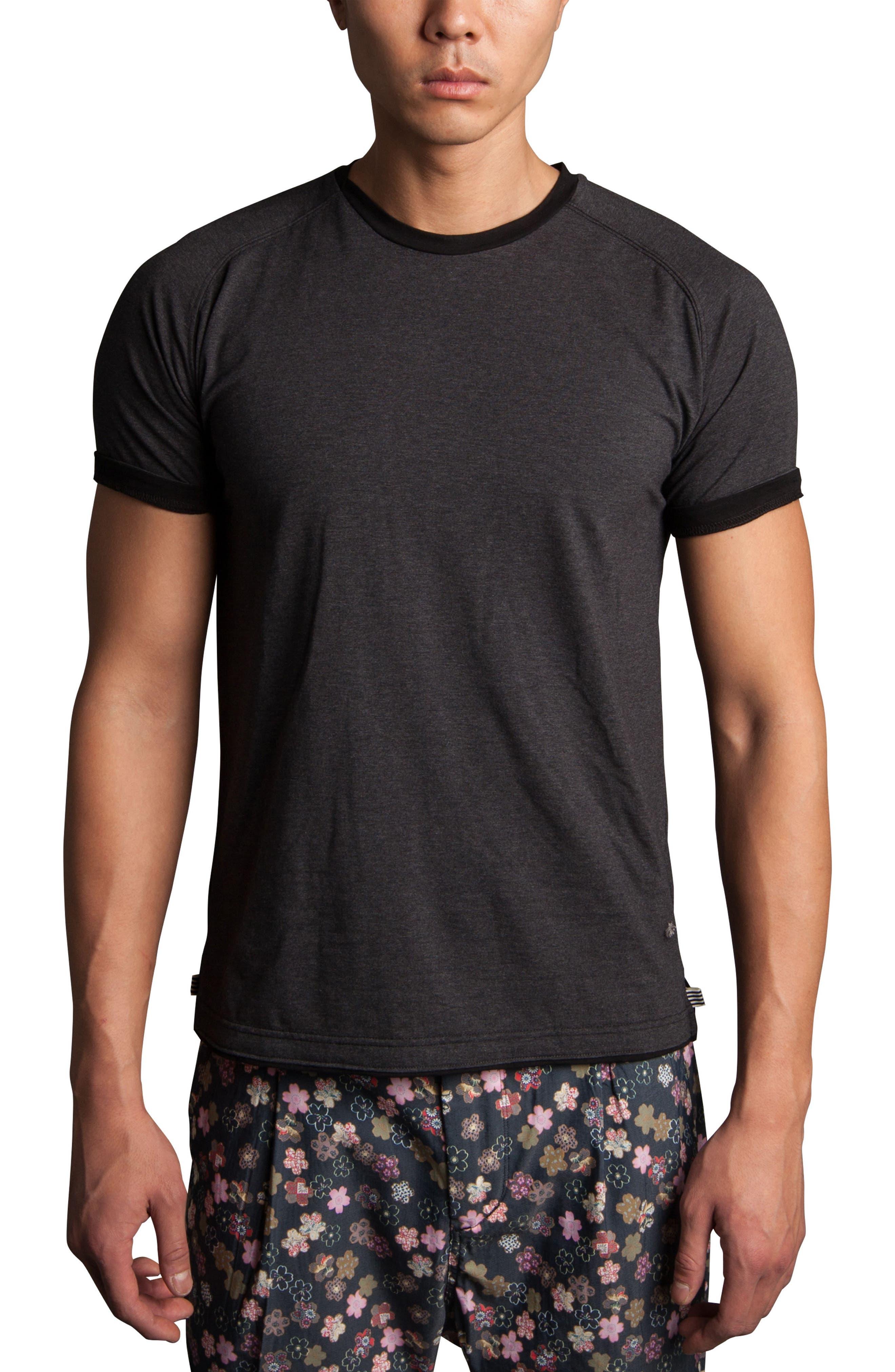 Cloud Soft T-Shirt,                             Alternate thumbnail 7, color,                             020