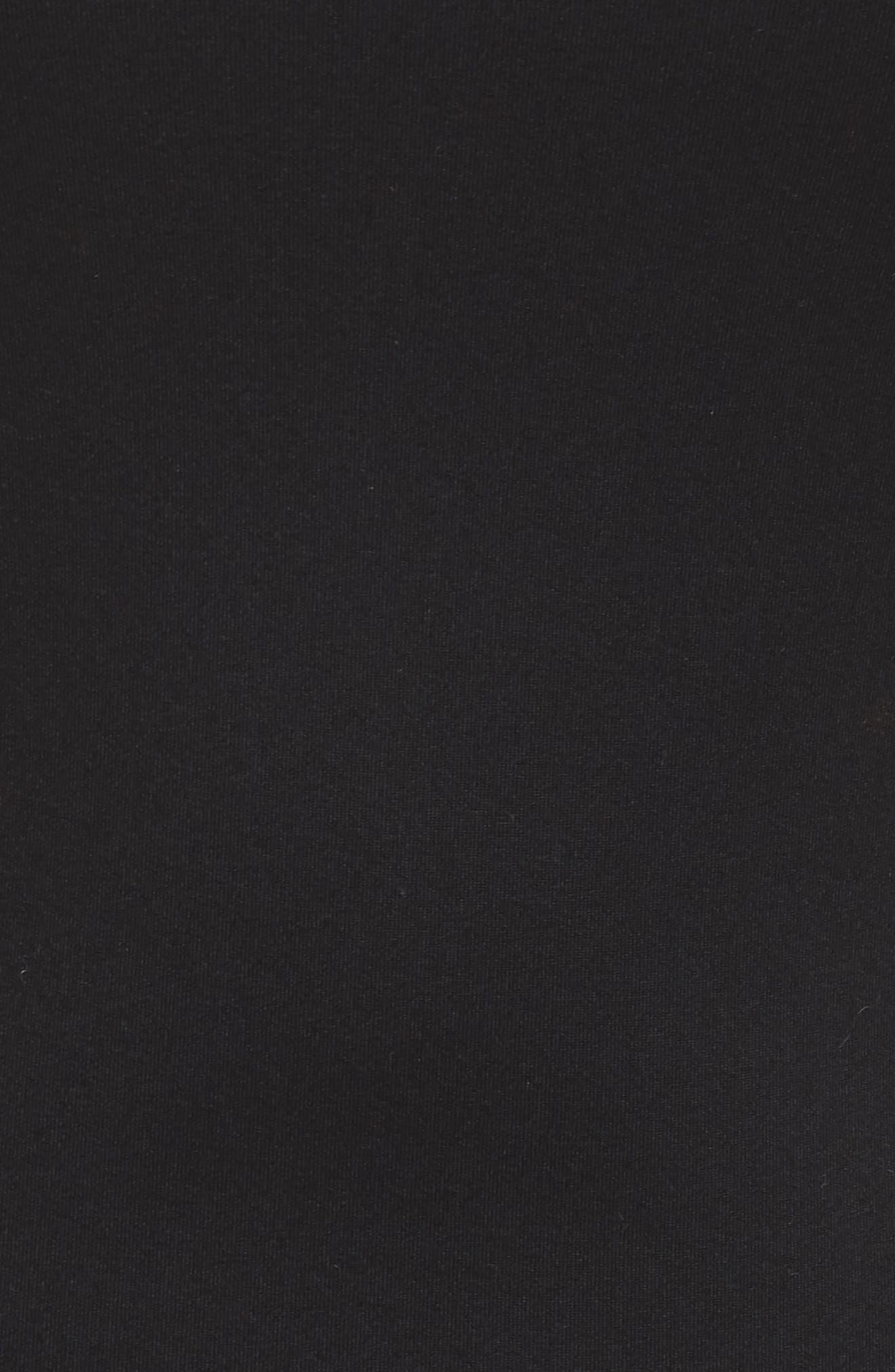 Body-Con Midi Dress,                             Alternate thumbnail 12, color,                             001