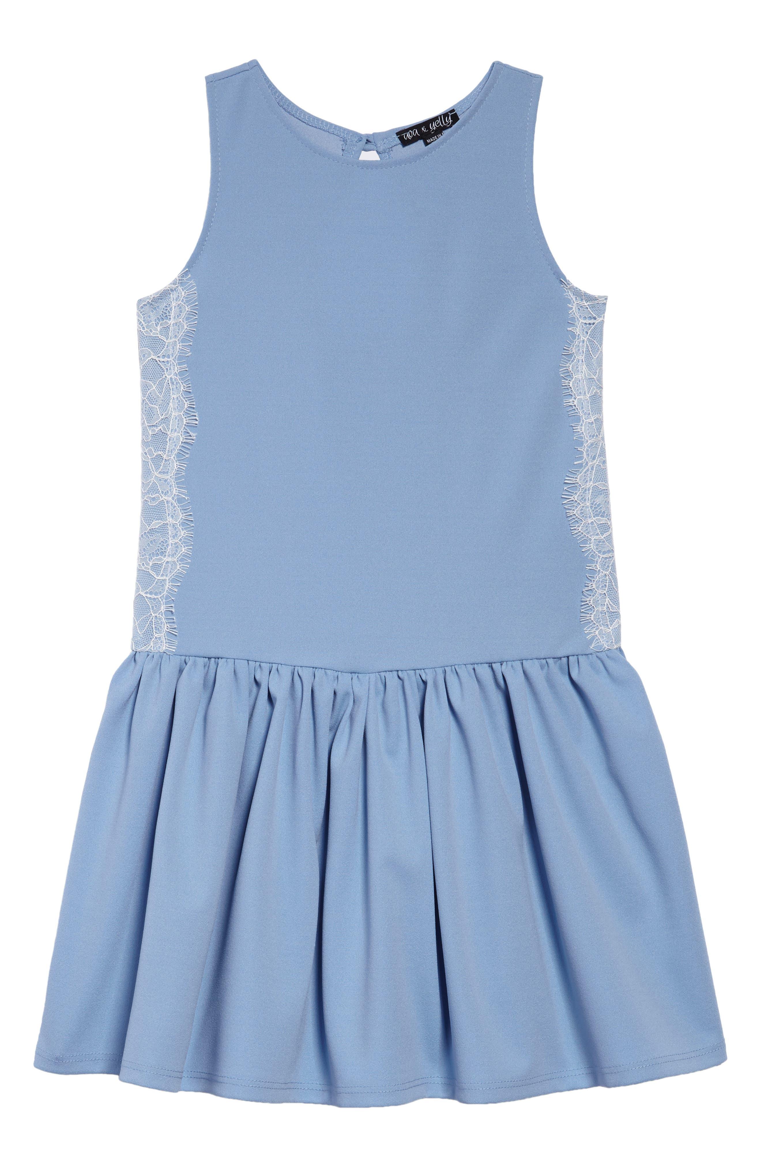 Drop Waist Dress,                             Main thumbnail 1, color,                             400