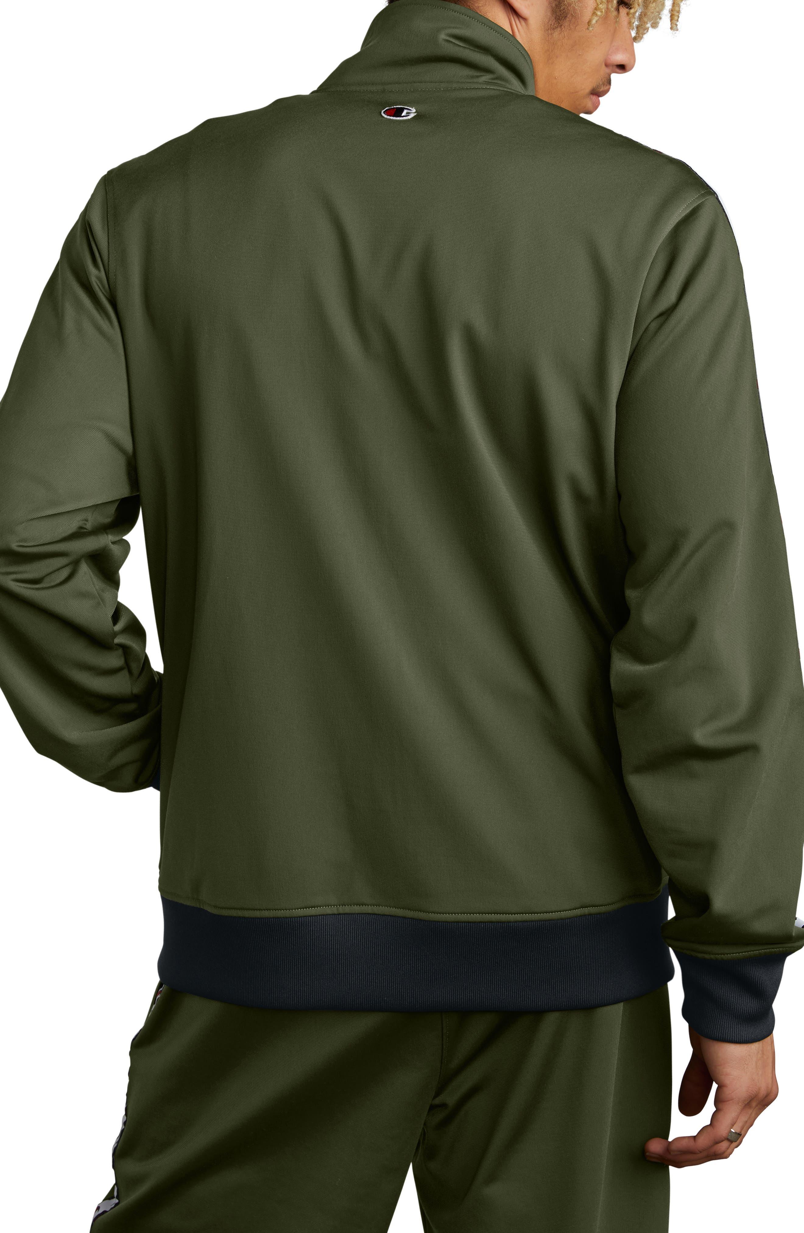 Track Jacket,                             Alternate thumbnail 2, color,                             HIKER GREEN