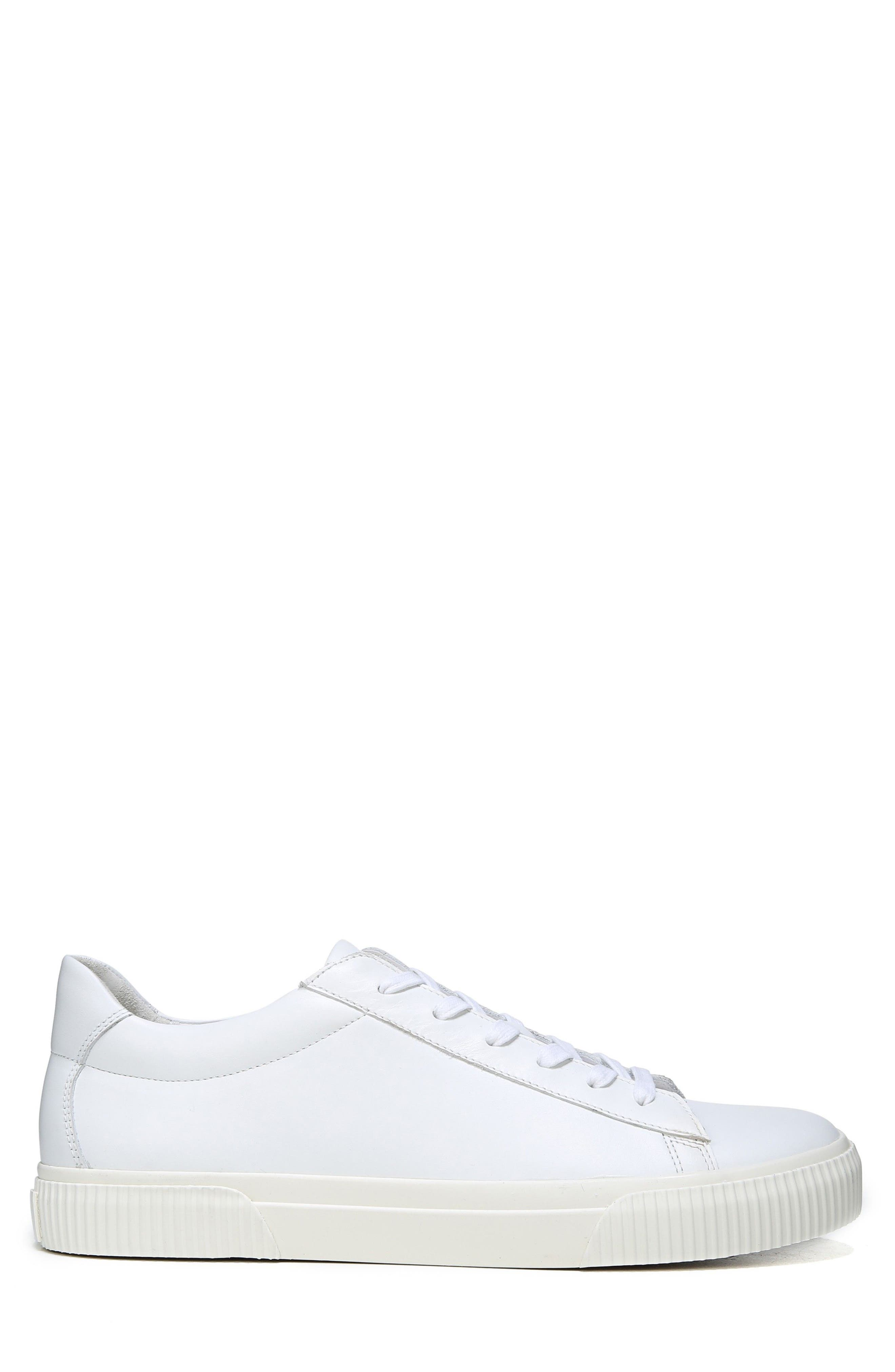 Kurtis Low Top Sneaker,                             Alternate thumbnail 3, color,                             WHITE