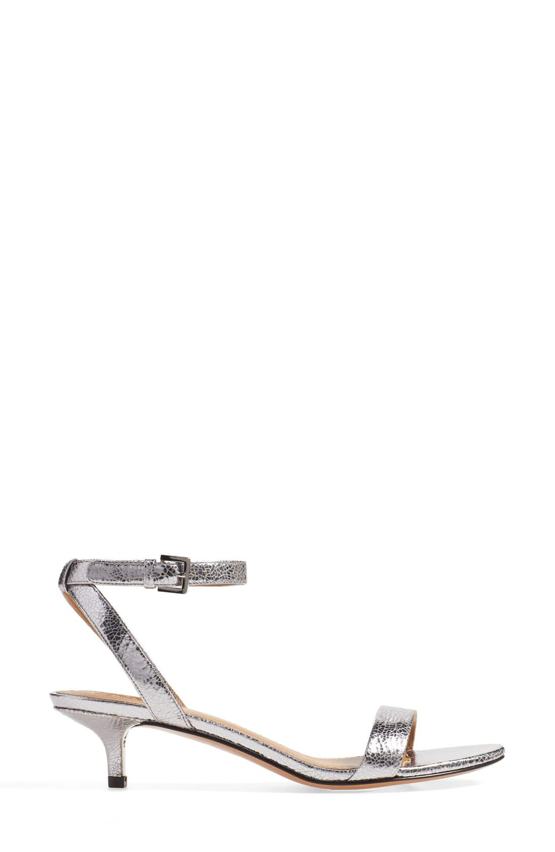 'Elana' Ankle Strap Sandal,                             Alternate thumbnail 3, color,                             043