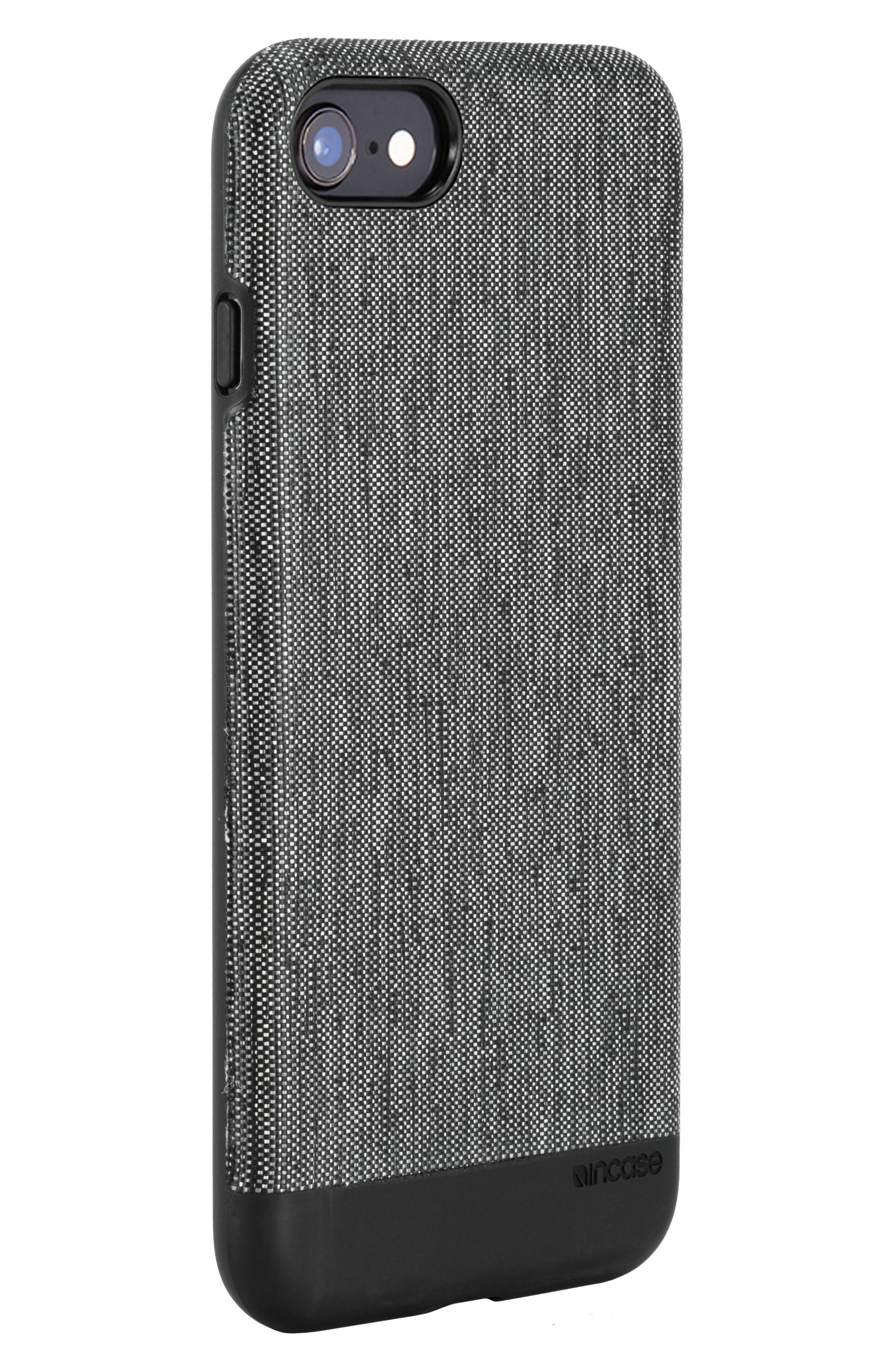 Textured Snap iPhone 7/8 Case,                             Alternate thumbnail 4, color,                             001