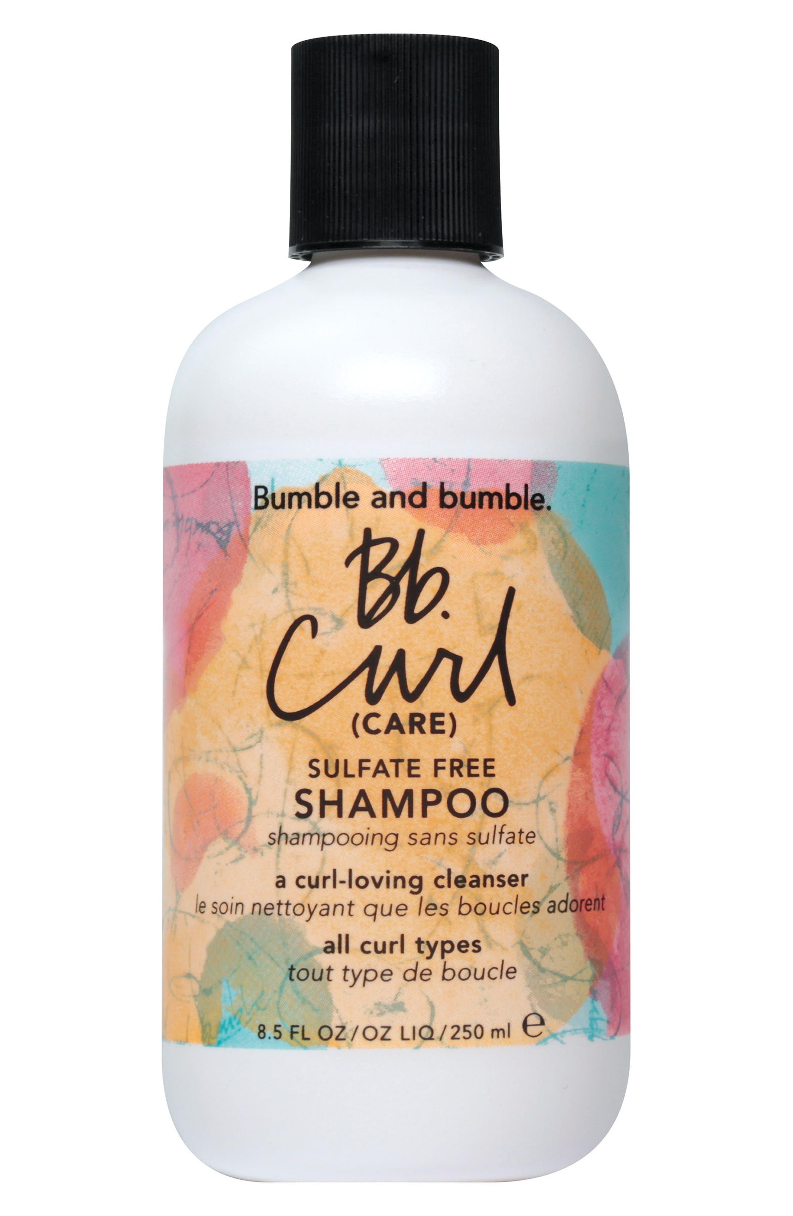 Curl Shampoo,                             Main thumbnail 1, color,                             NO COLOR