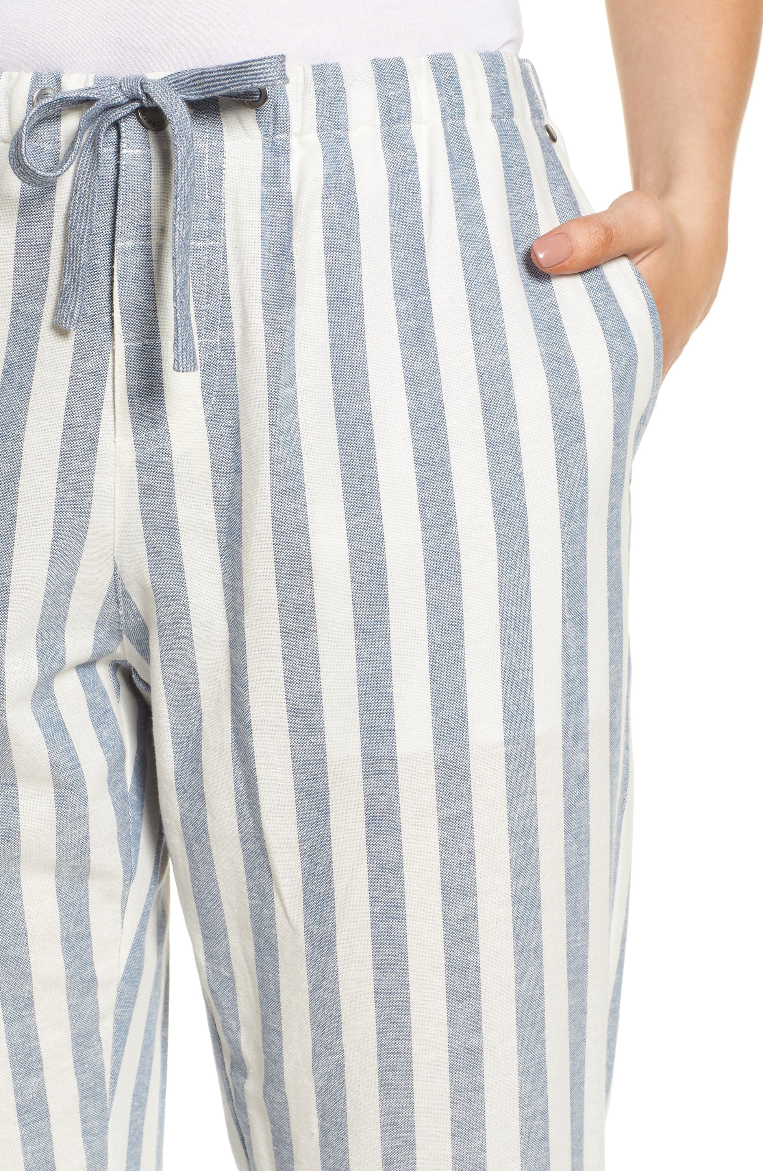 Vera Drawstring Pants,                             Alternate thumbnail 4, color,                             101