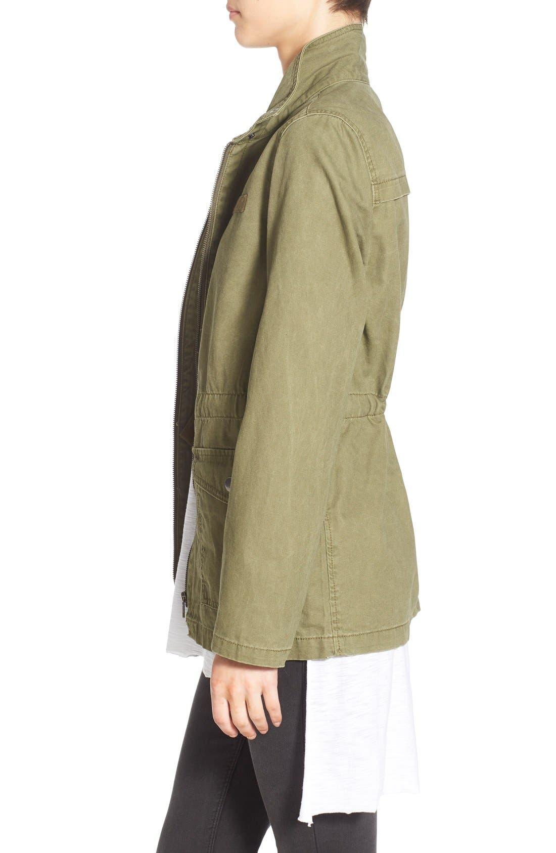 BP.,                             Cotton Field Jacket,                             Alternate thumbnail 3, color,                             311