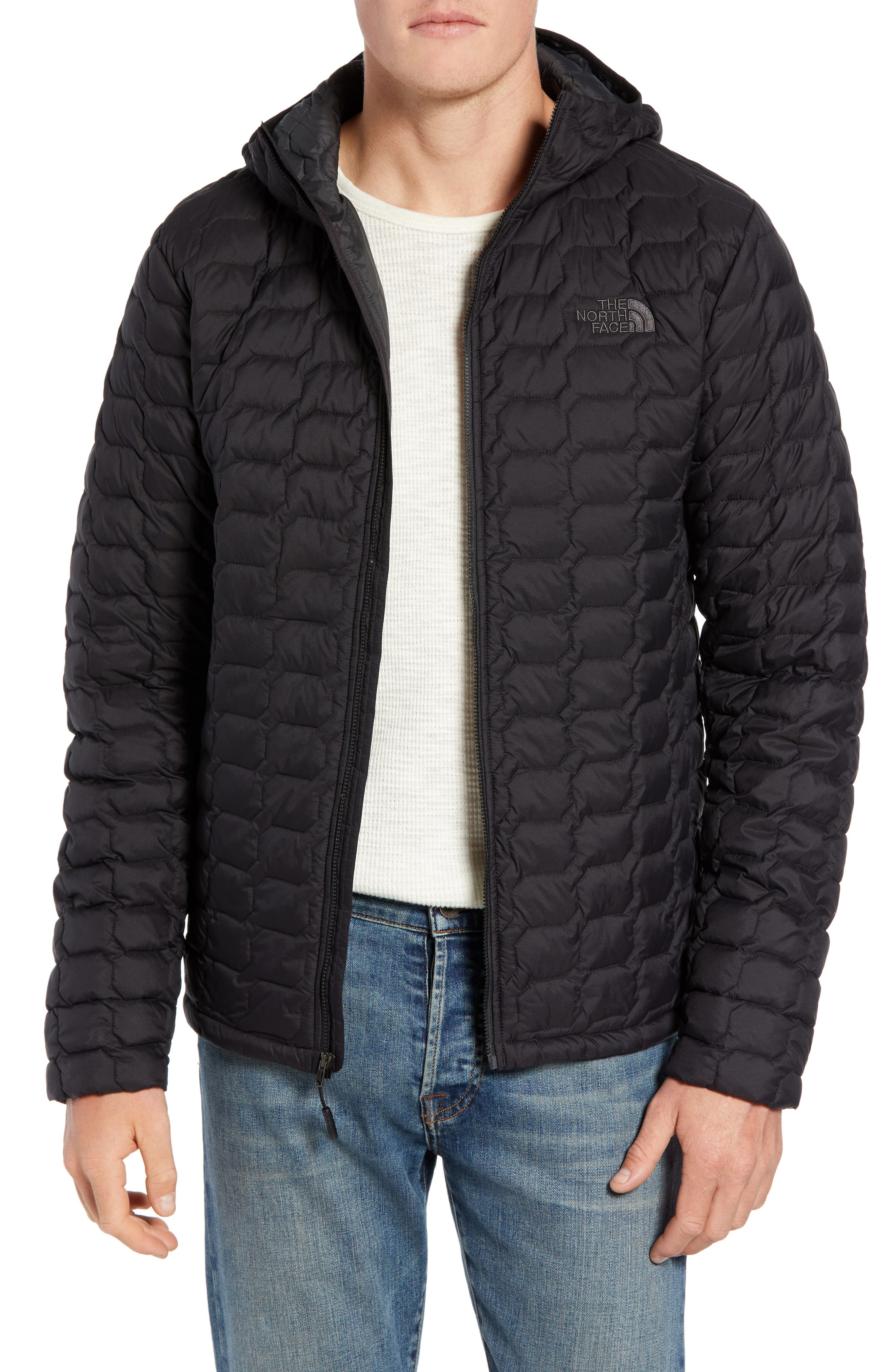 ThermoBall<sup>™</sup> Zip Hoodie,                         Main,                         color, TNF BLACK MATTE
