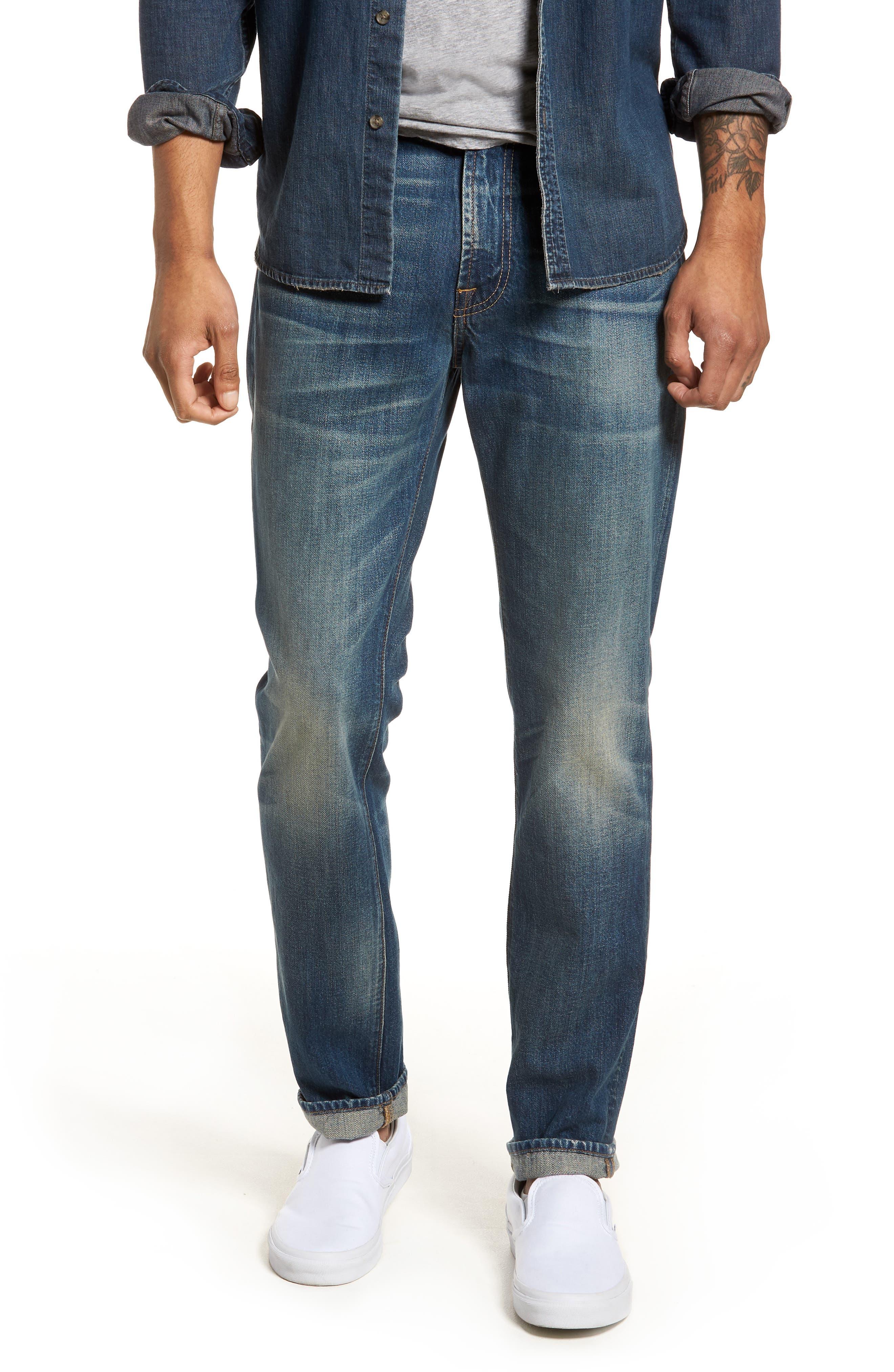Adrien Slim Fit Jeans,                             Main thumbnail 1, color,                             LEGEND