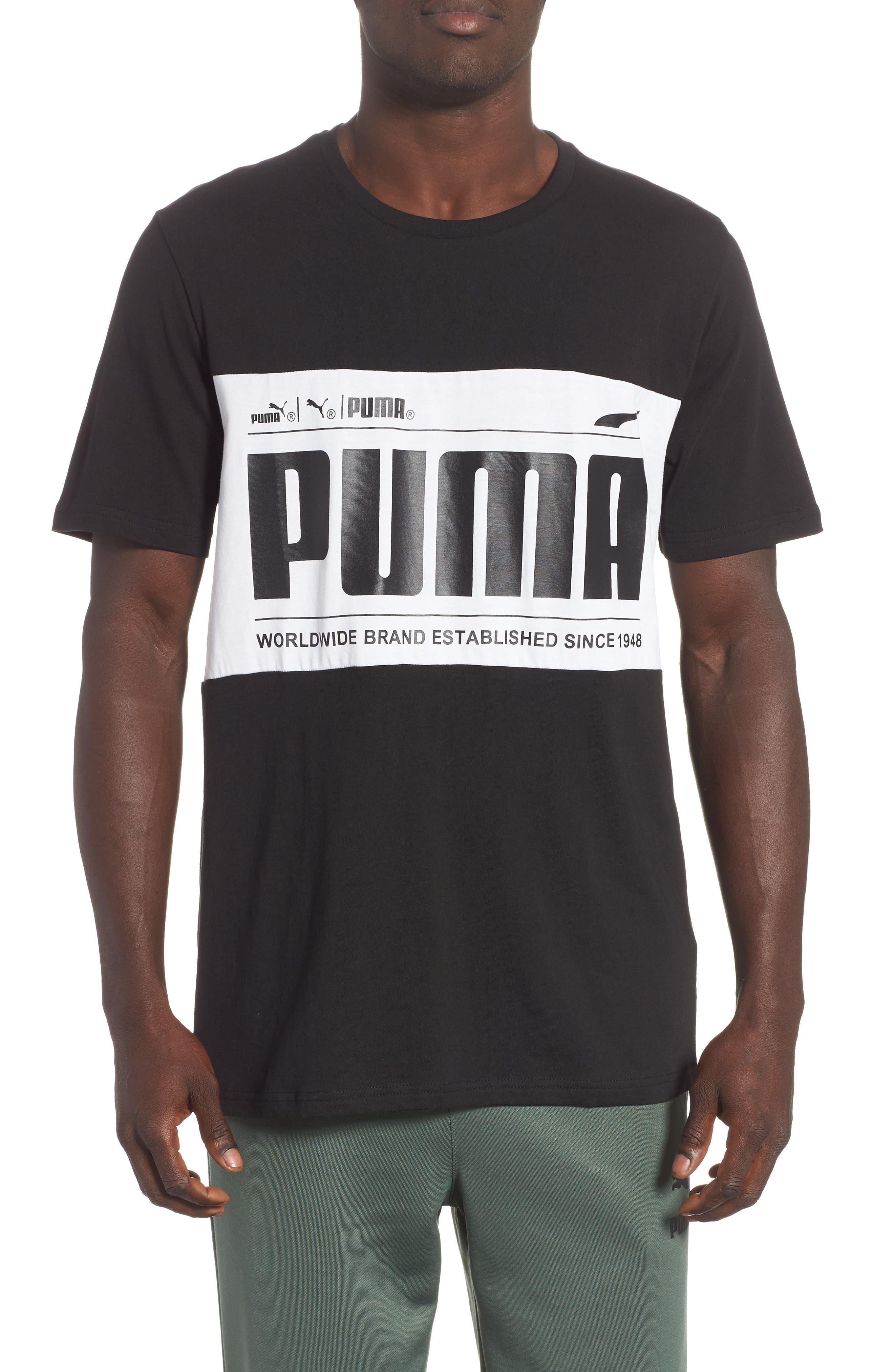 Puma Graphic Logoblock T-Shirt