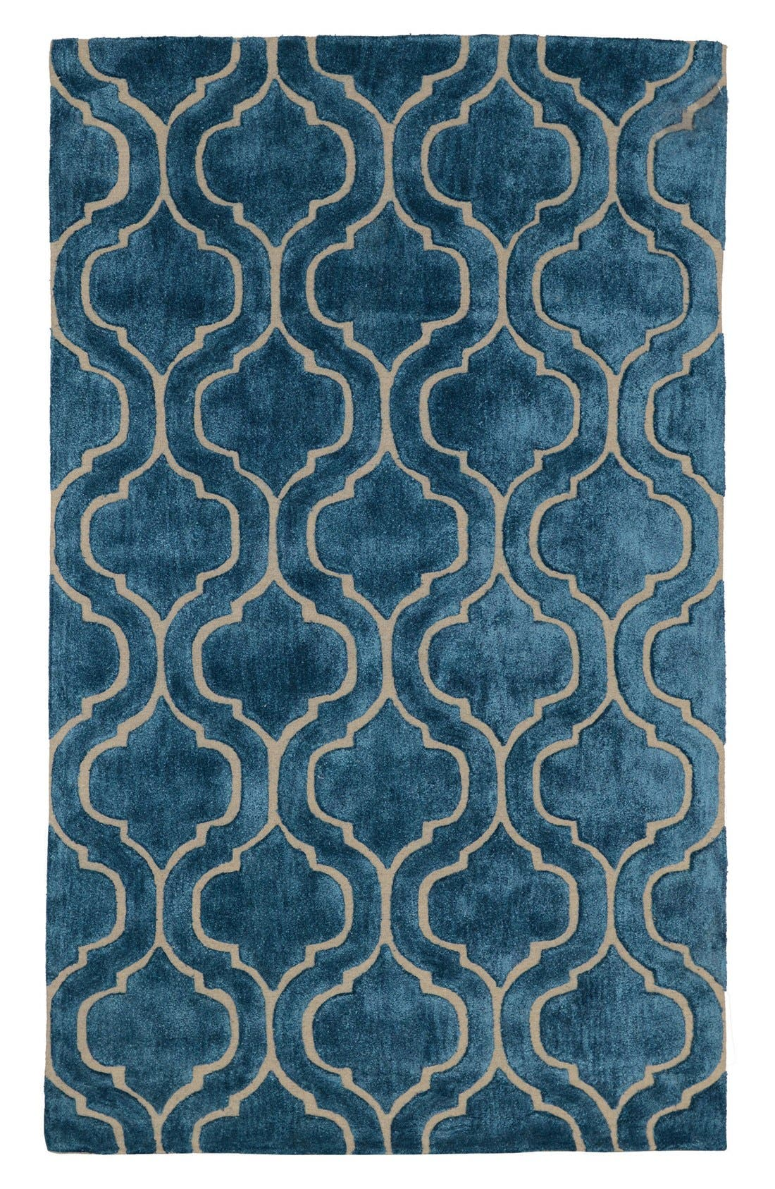 Villa Home 'Over Tufted - Blue Jay' Rug,                             Main thumbnail 1, color,                             400