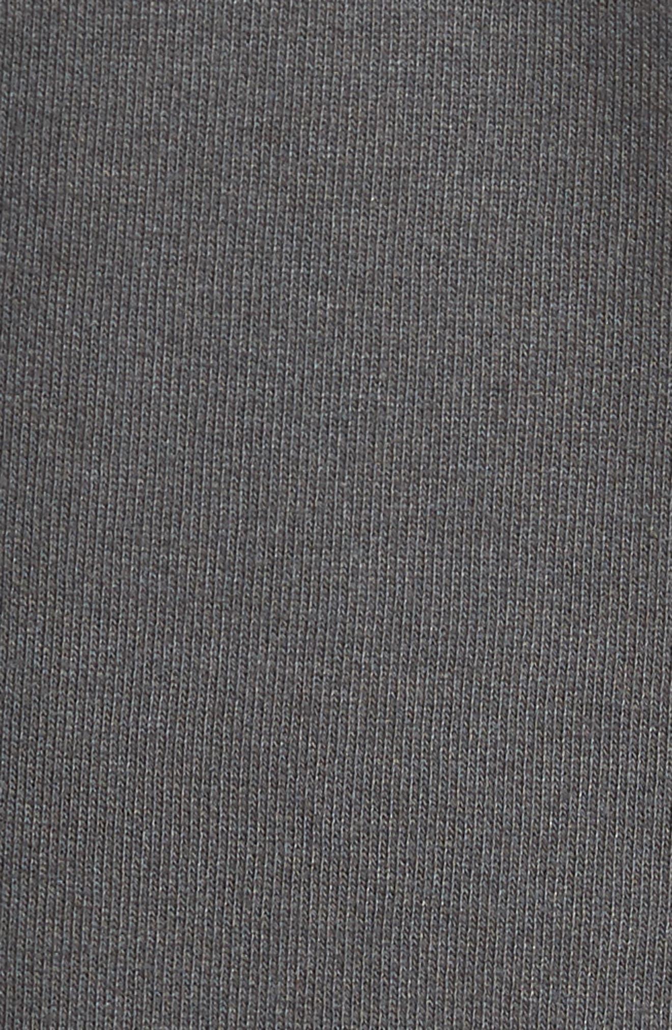 Oversize Fleece Sweatshirt,                             Alternate thumbnail 5, color,                             020