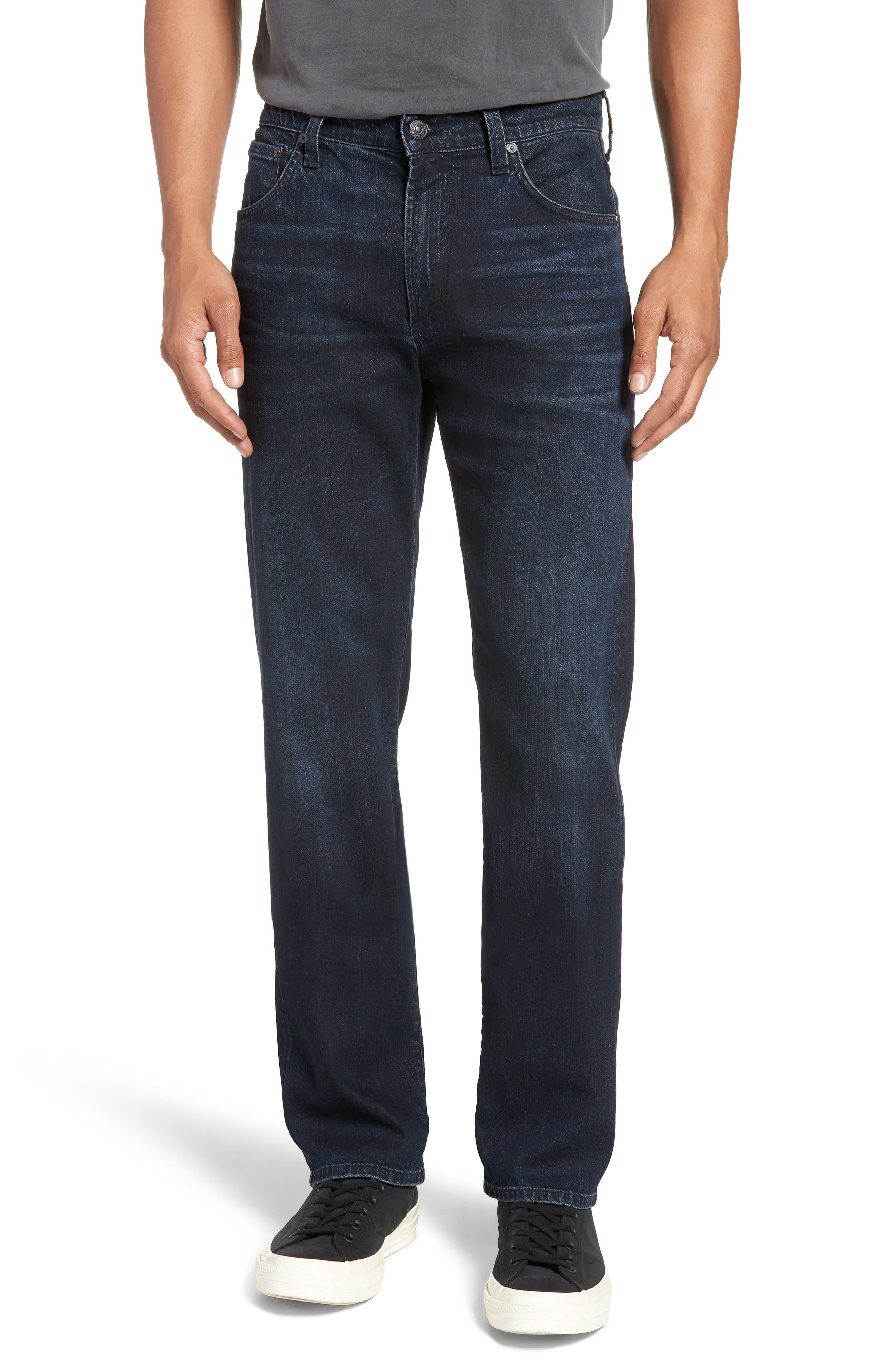Sid Straight Leg Jeans,                             Main thumbnail 1, color,                             NATE