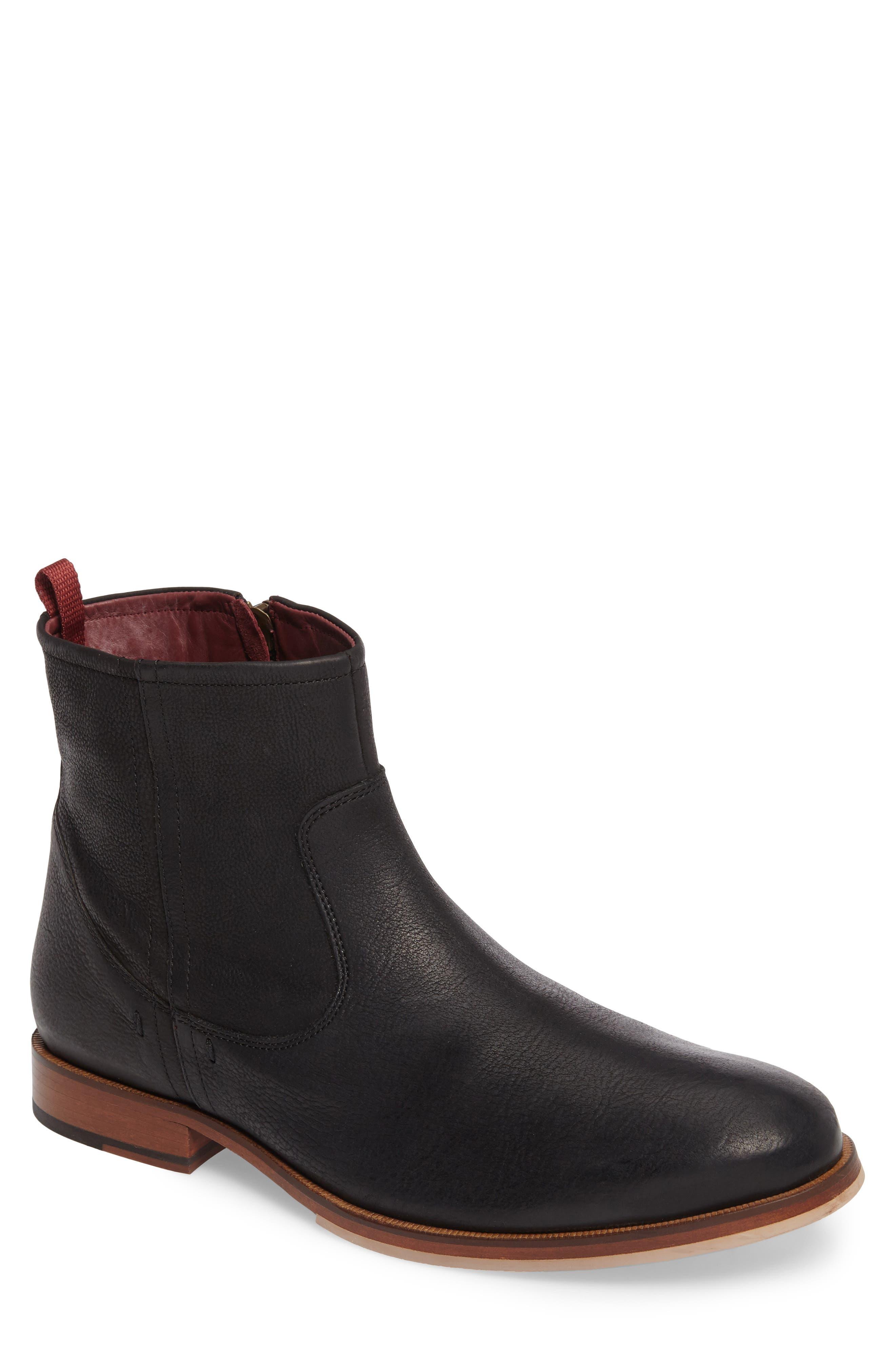 'Navarra' Zip Boot,                         Main,                         color, 001