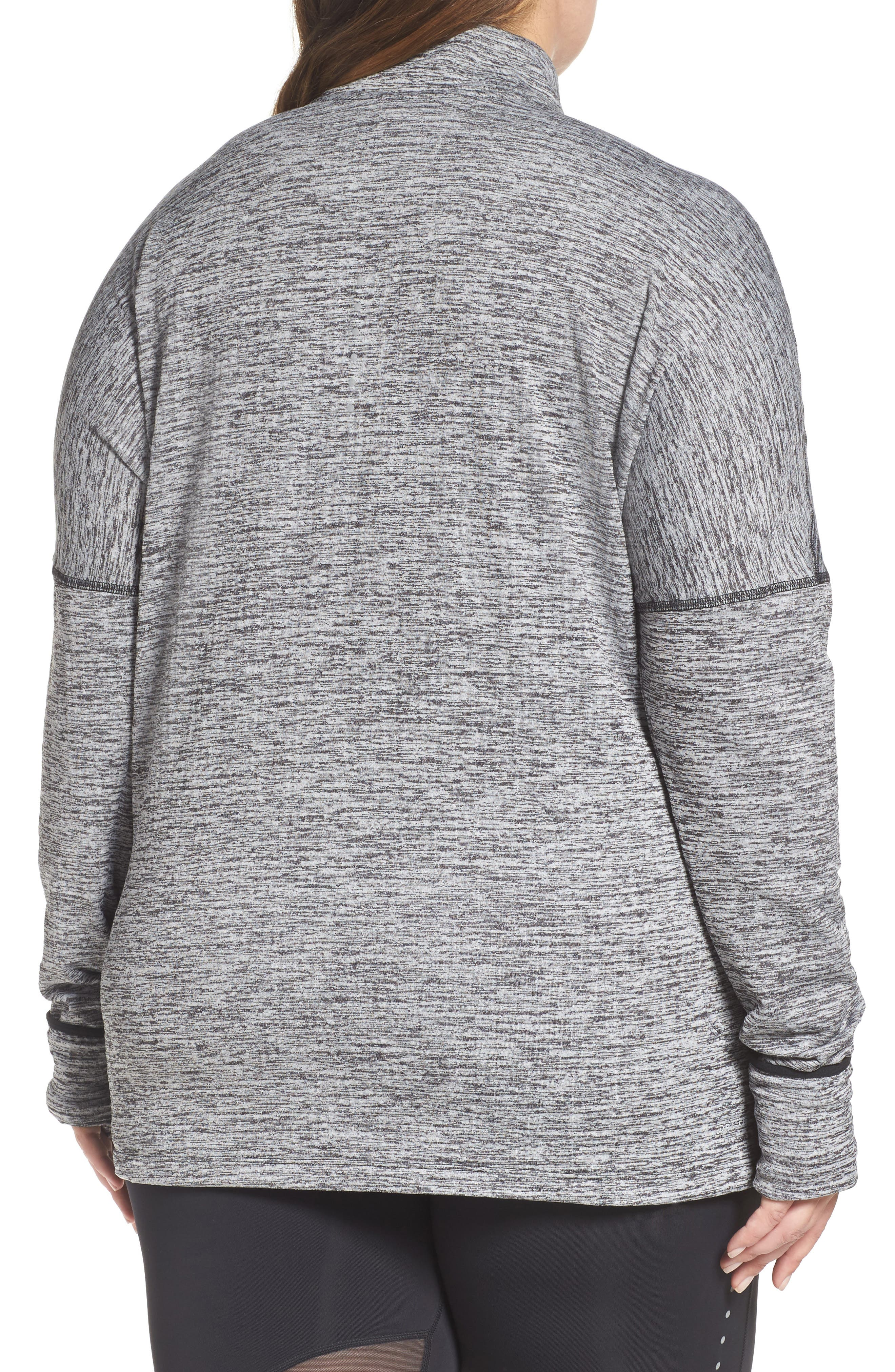 Sphere Element Long Sleeve Running Top,                             Alternate thumbnail 5, color,