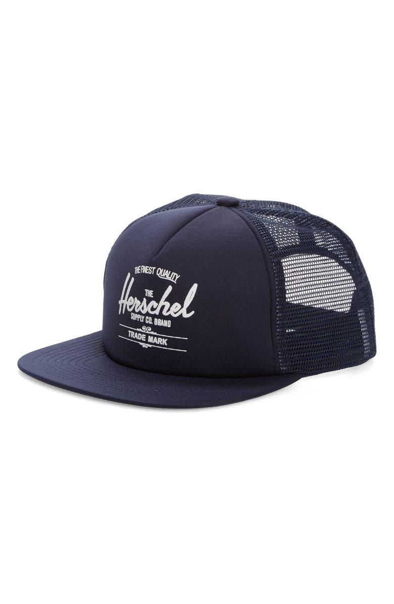 Herschel Supply Co. Whaler Trucker Hat  846b1dd8262