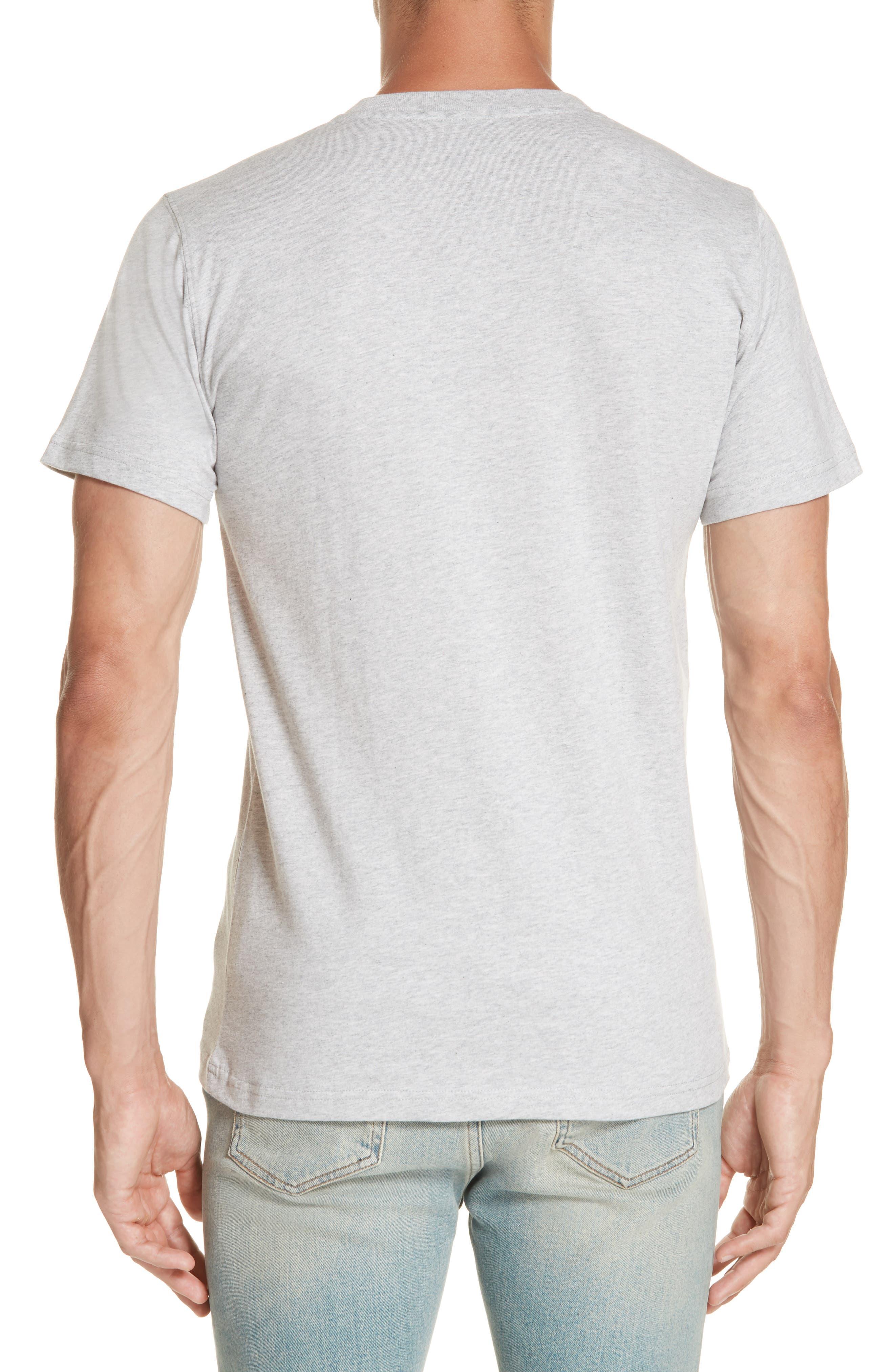 Niels Logo Pocket T-Shirt,                             Alternate thumbnail 2, color,                             GREY