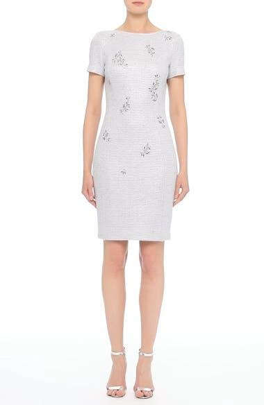 Embellished Shimmer Knit Dress, video thumbnail
