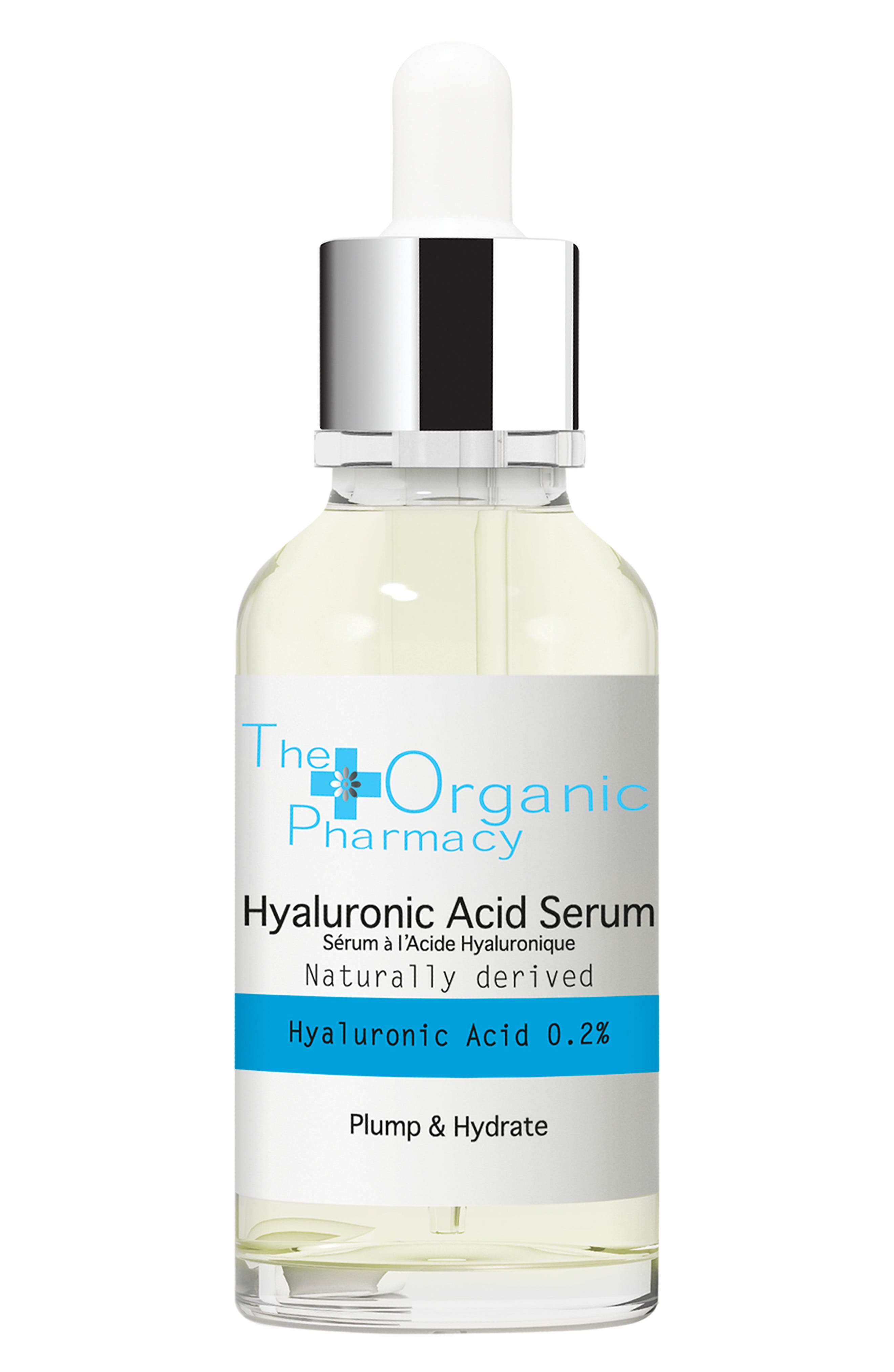 THE ORGANIC PHARMACY,                             Hyaluronic Acid Serum,                             Main thumbnail 1, color,                             NO COLOR