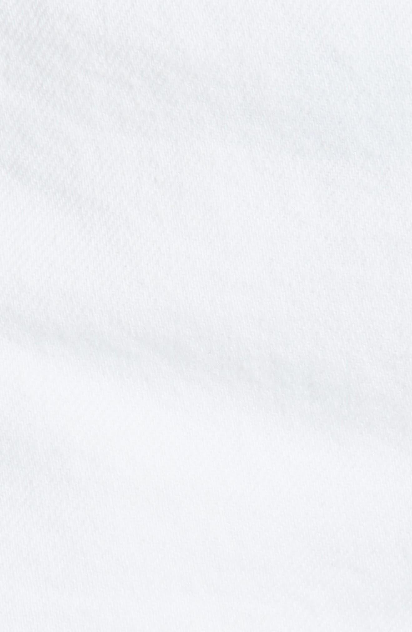 Cindy Rigid High Waist Denim Shorts,                             Alternate thumbnail 5, color,                             GRANADA