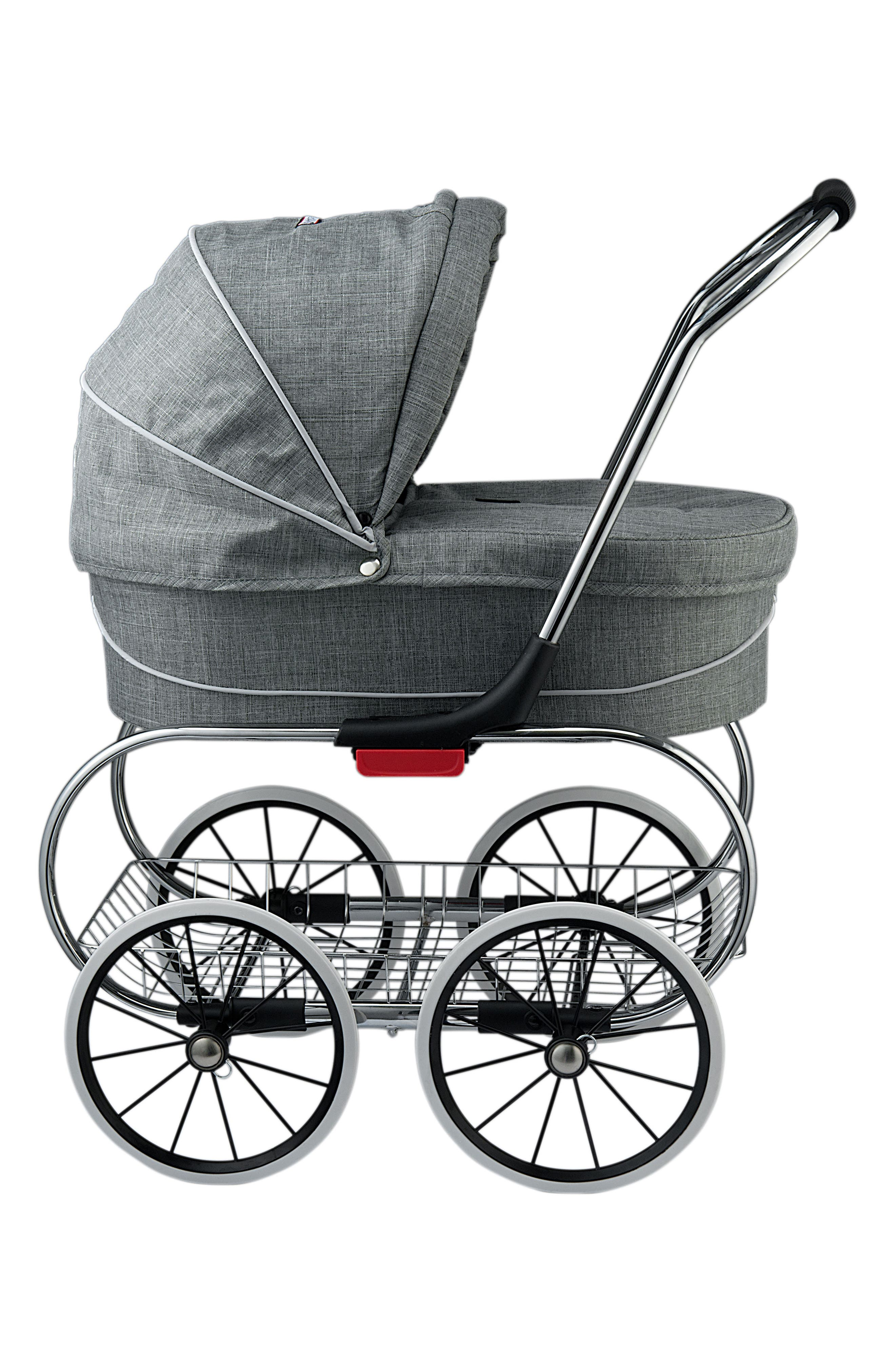 Princess Doll Stroller,                             Alternate thumbnail 4, color,                             GREY