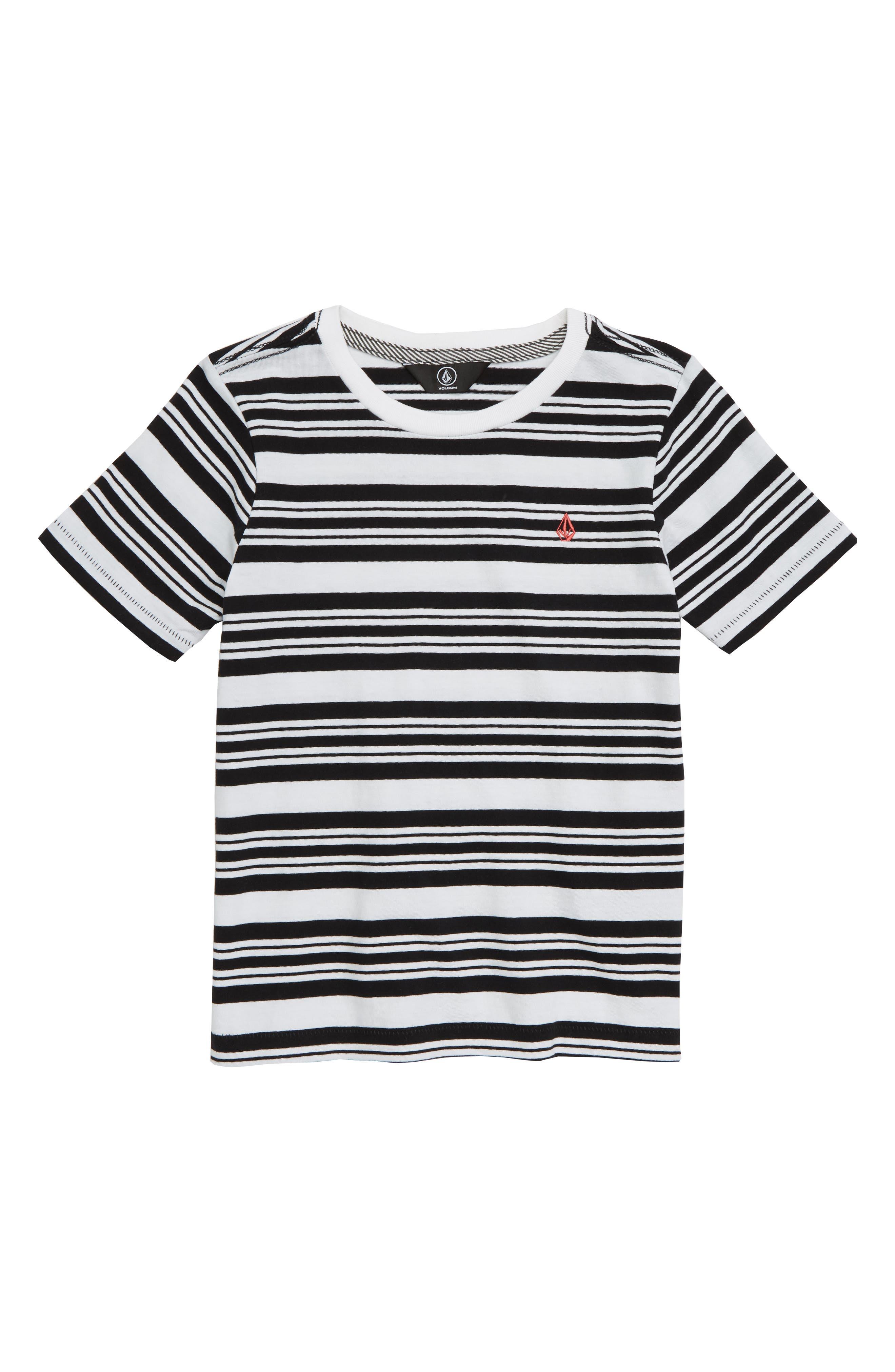 Randall Stripe T-Shirt,                         Main,                         color, WHITE