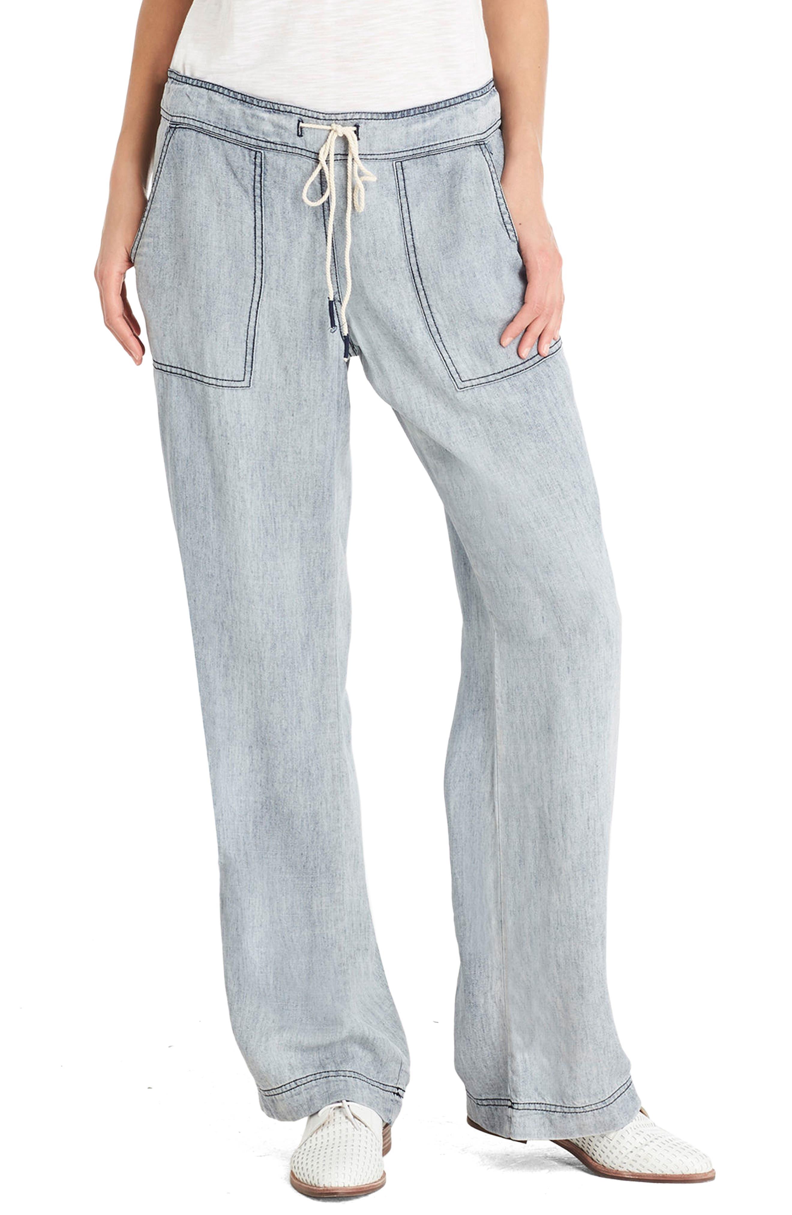 Chambray Pants,                         Main,                         color, 484