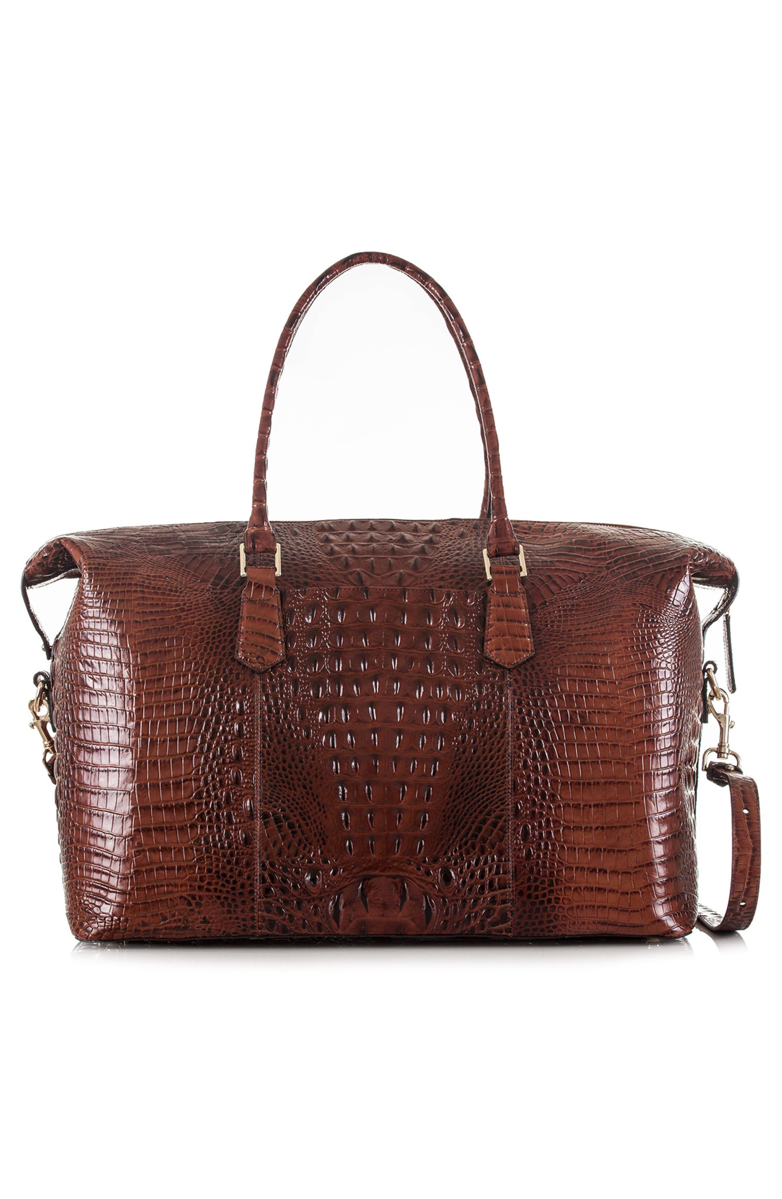 'Duxbury' Leather Travel Bag,                             Alternate thumbnail 14, color,