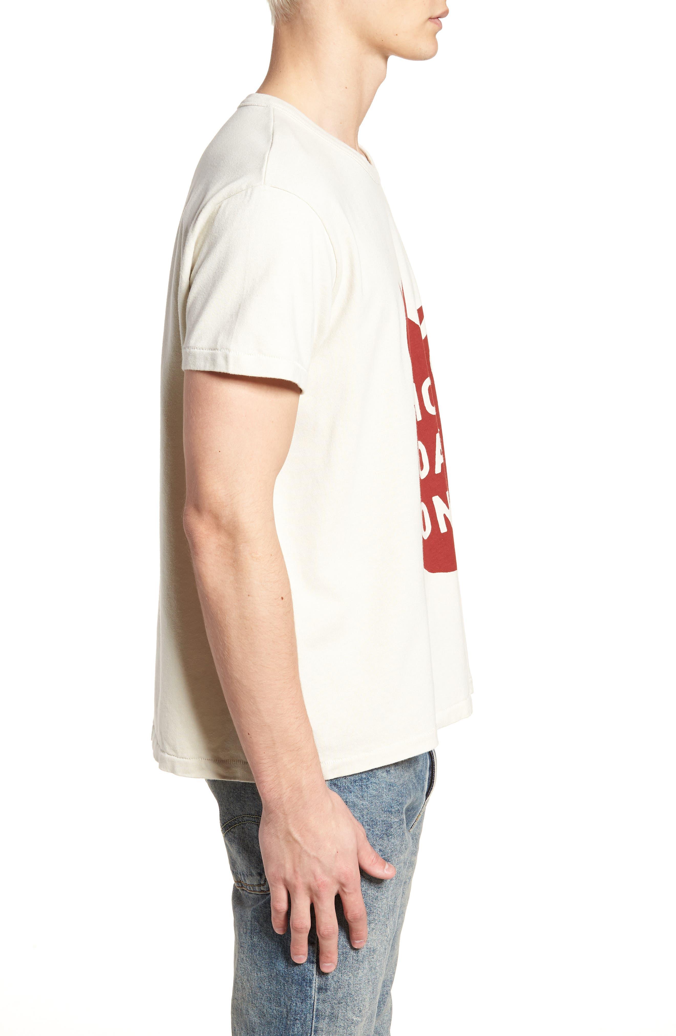 1960s Loose Fit T-Shirt,                             Alternate thumbnail 3, color,                             100