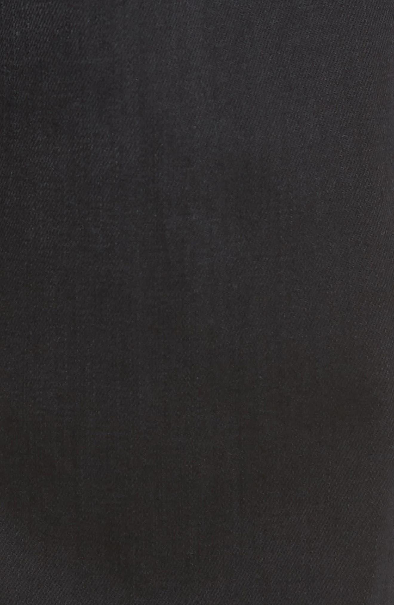 Everett Slim Straight Leg Jeans,                             Alternate thumbnail 5, color,                             001