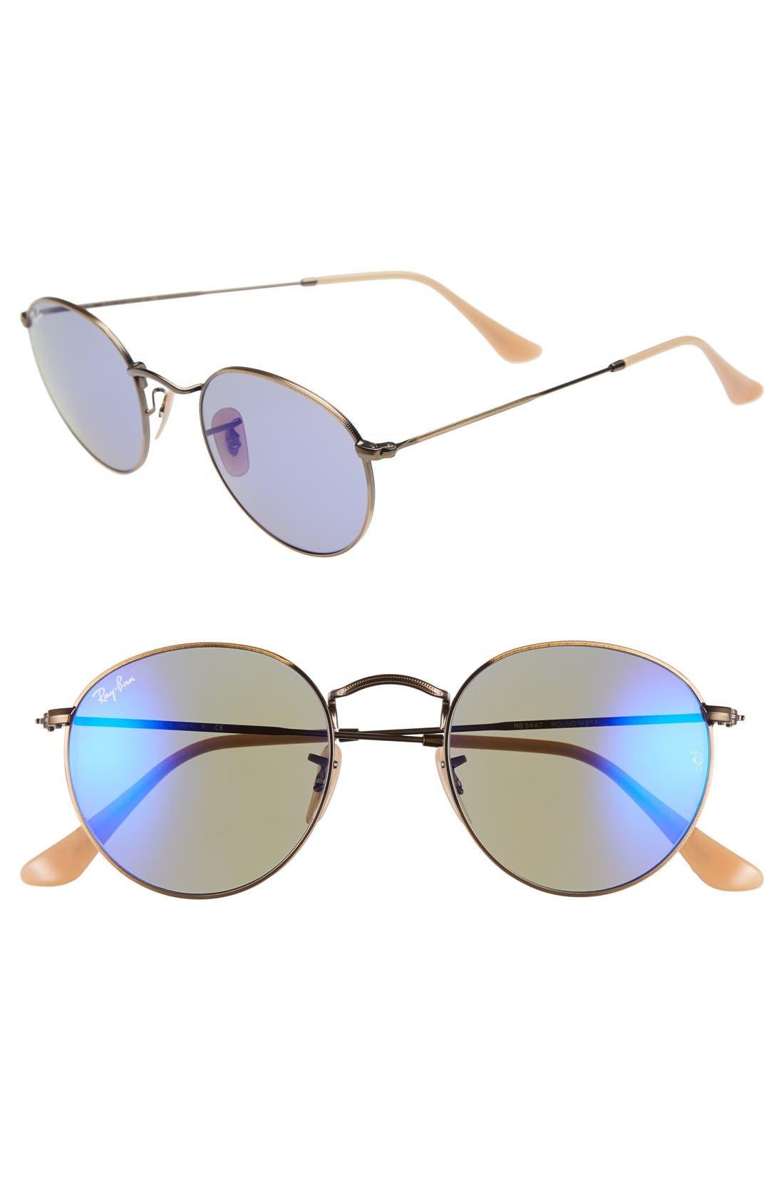 Icons 50mm Sunglasses,                             Main thumbnail 6, color,