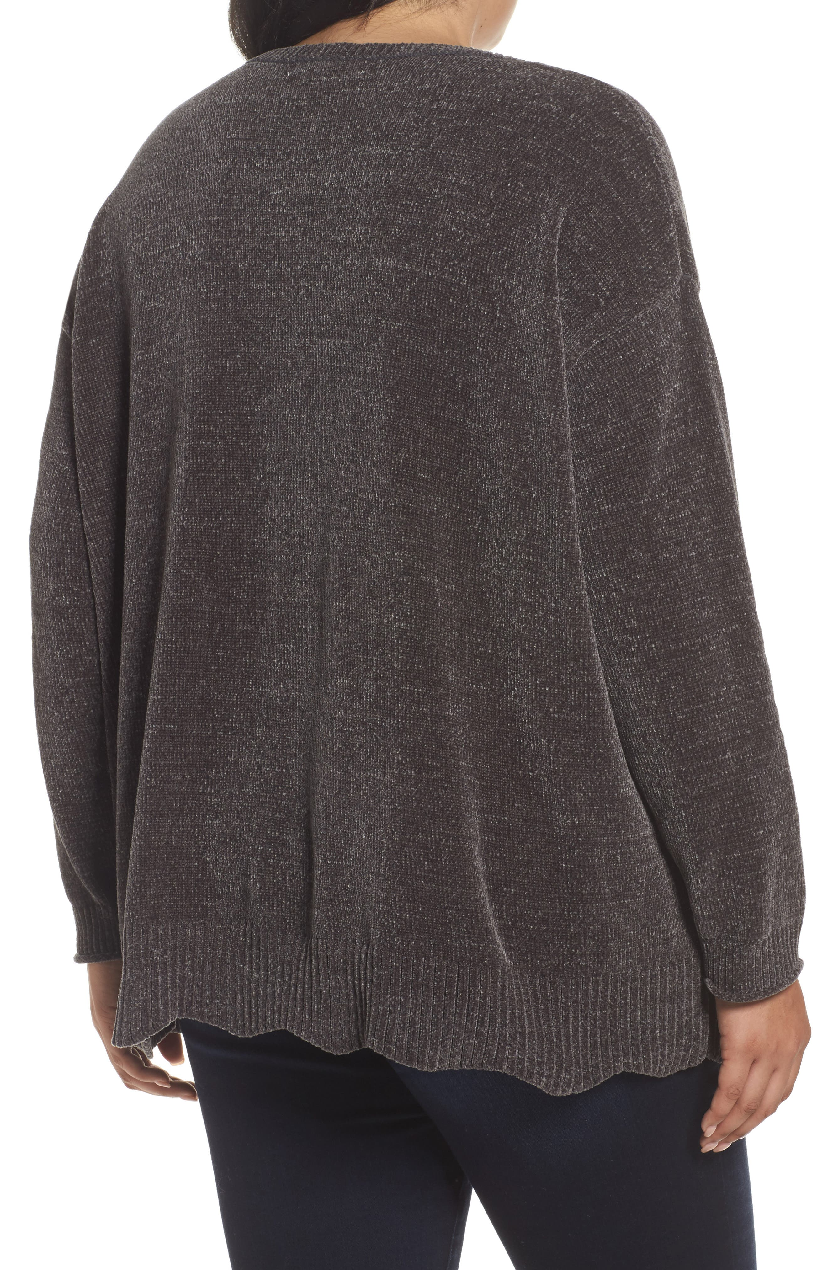 Scallop Hem Sweater,                             Alternate thumbnail 2, color,                             021