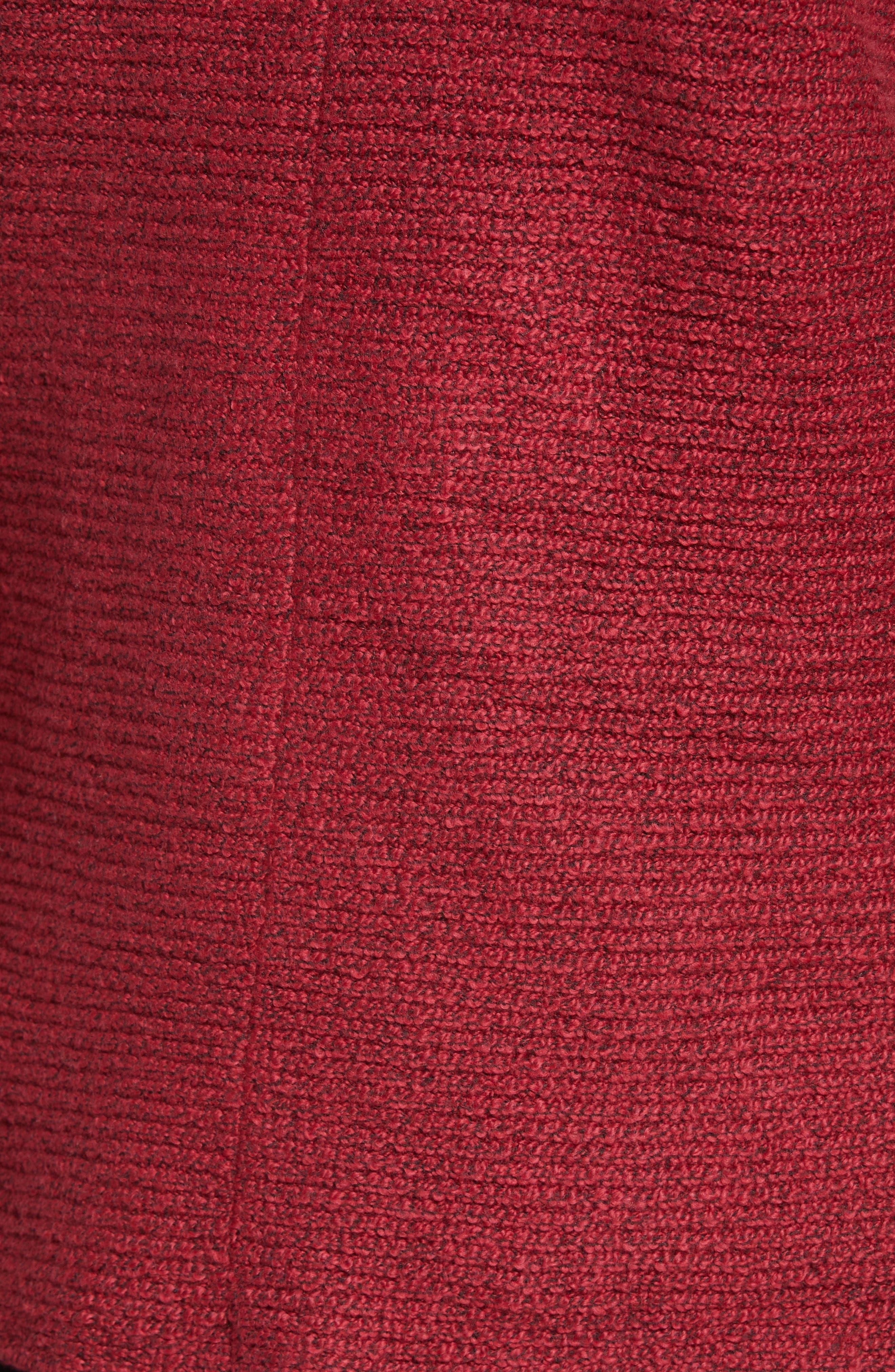 Blouson Sleeve V-Neck Sweater,                             Alternate thumbnail 5, color,                             641