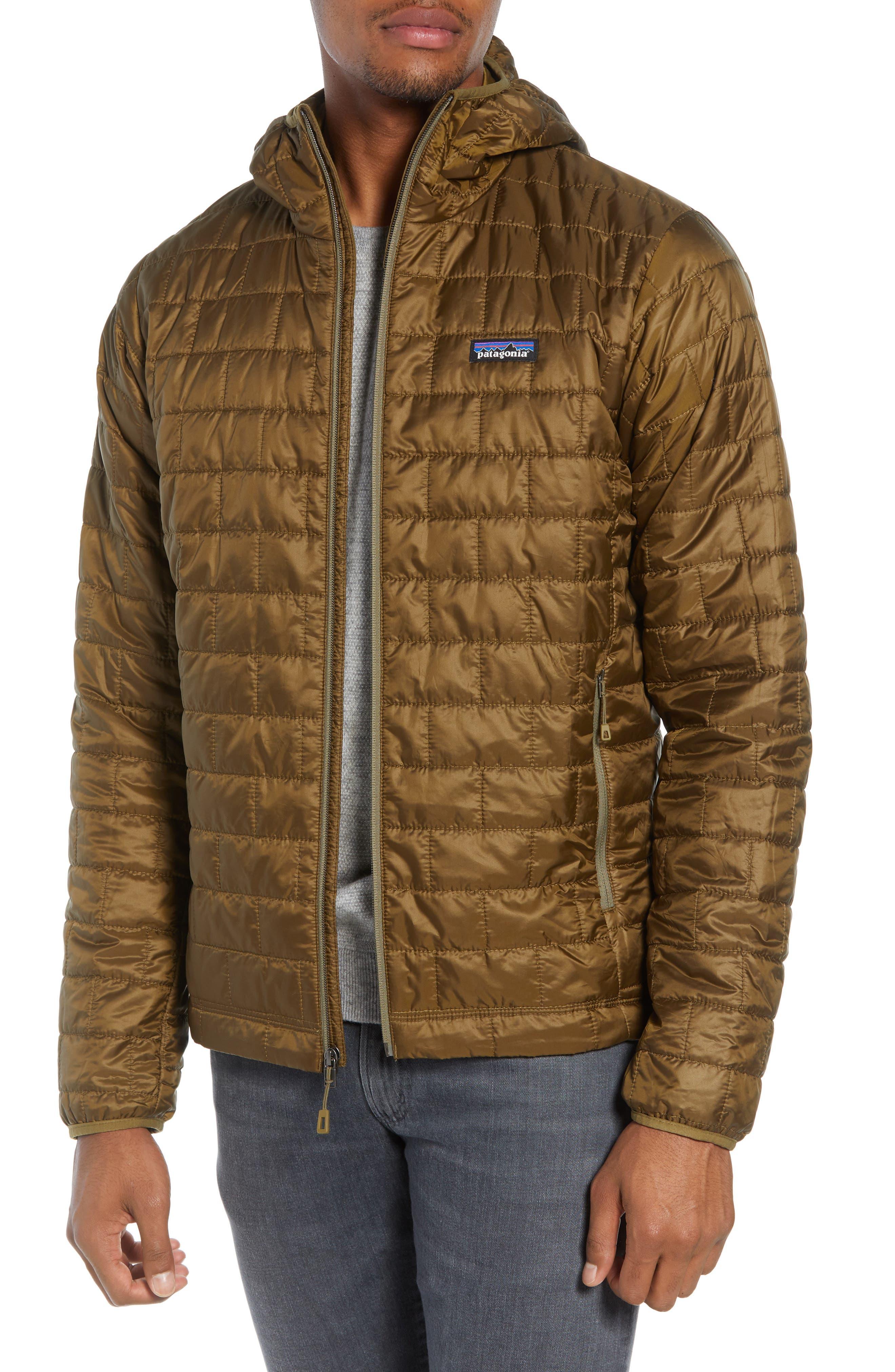 Nano Puff<sup>®</sup> Hooded Jacket,                             Alternate thumbnail 4, color,                             CARGO GREEN