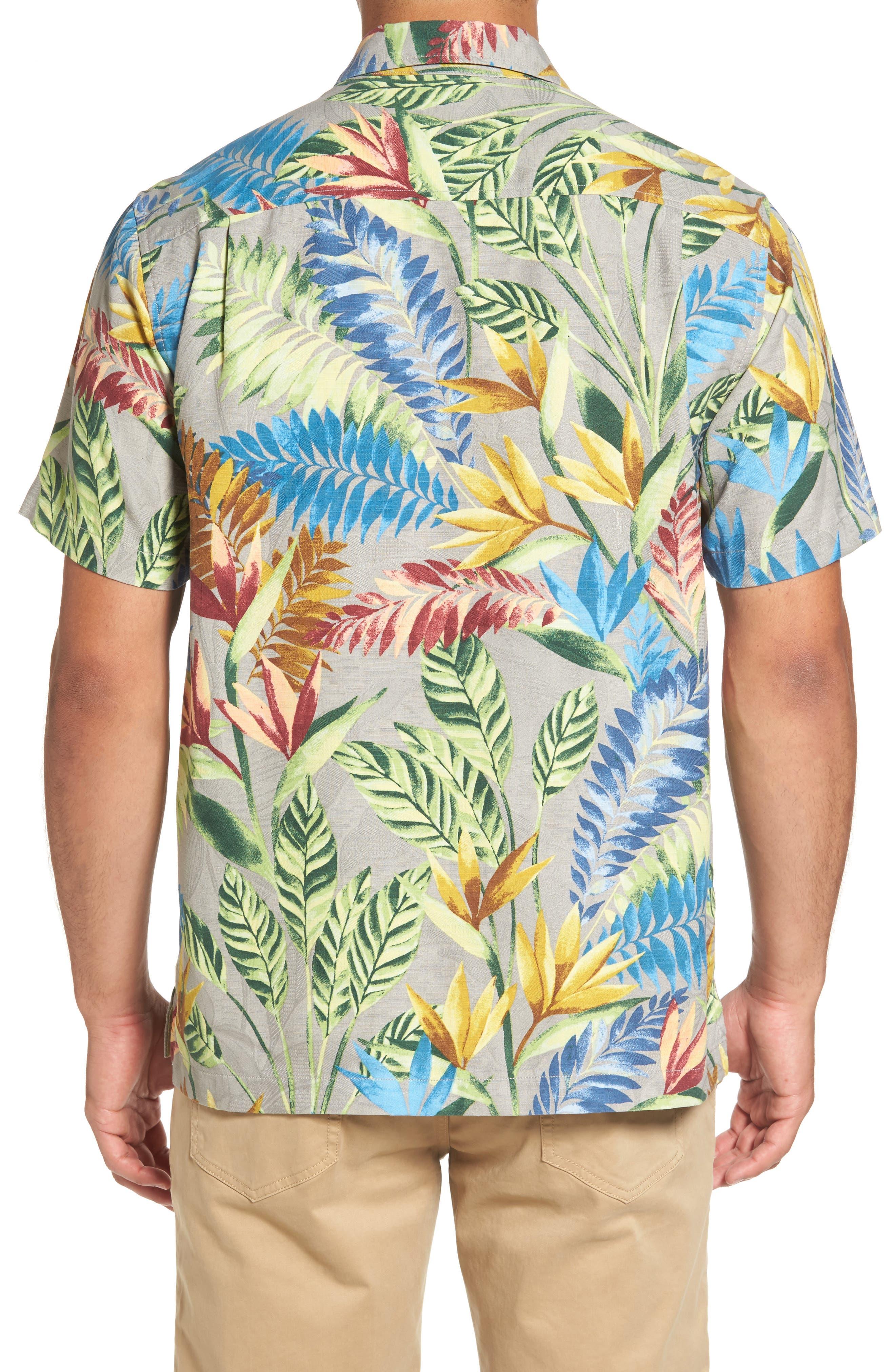 Taza Fronds Silk Brocade Woven Shirt,                             Alternate thumbnail 2, color,                             050