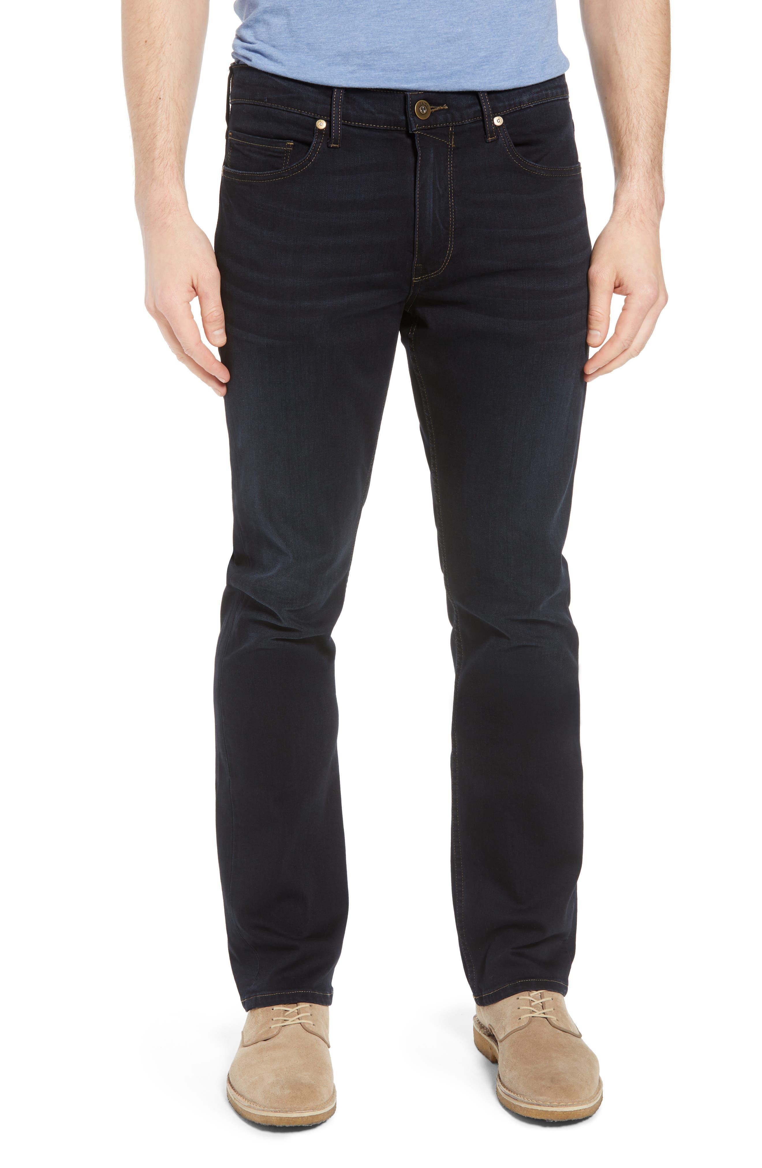 Transcend - Normandie Straight Leg Jeans,                             Main thumbnail 1, color,                             400