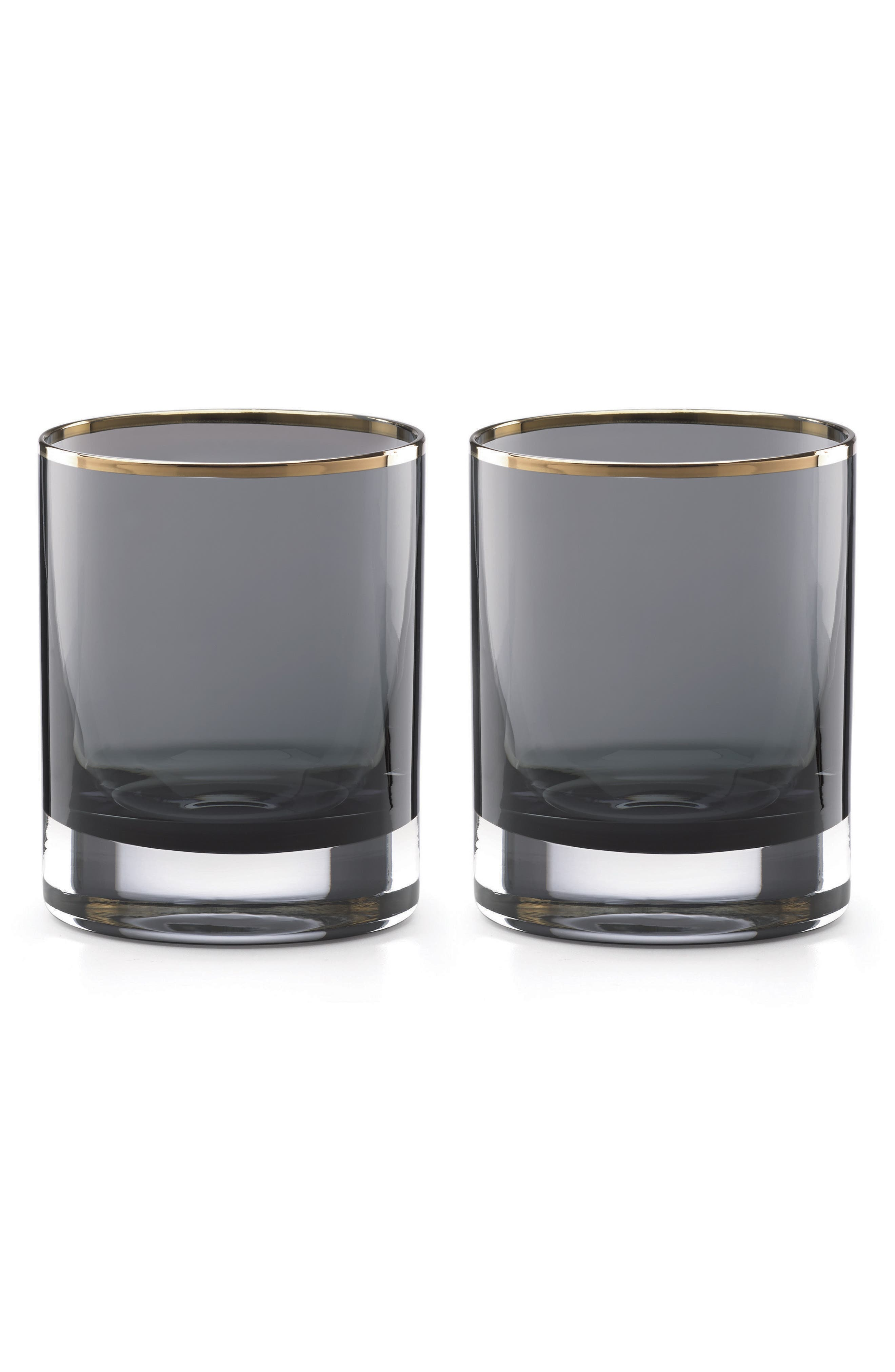 set of 2 double old-fashioned glasses,                         Main,                         color,