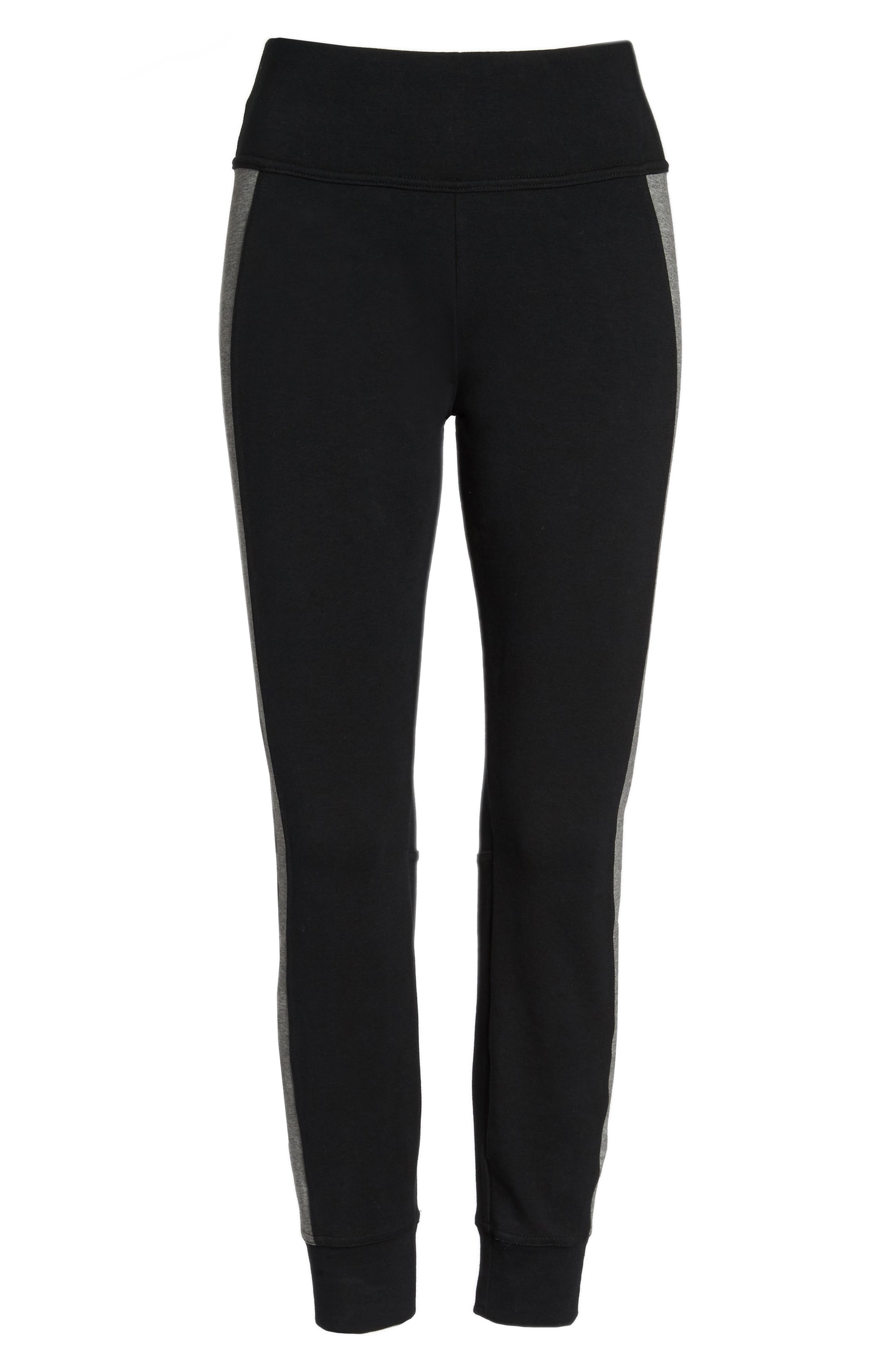 Essential Logo Leggings,                             Alternate thumbnail 24, color,