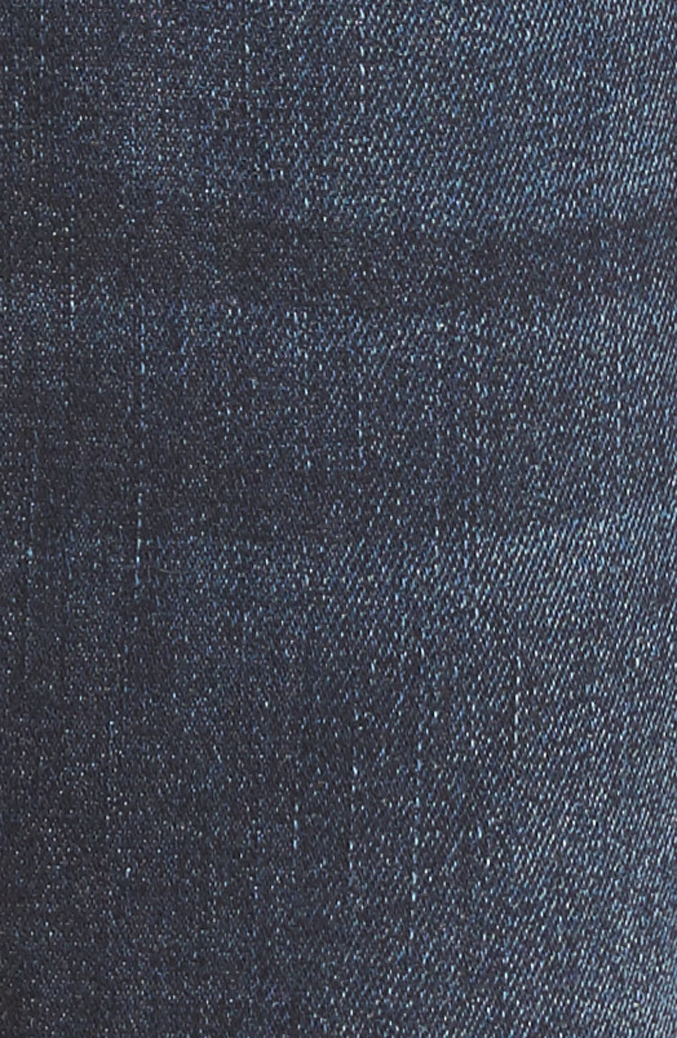 Bridget Split Hem Bootcut Jeans,                             Alternate thumbnail 5, color,