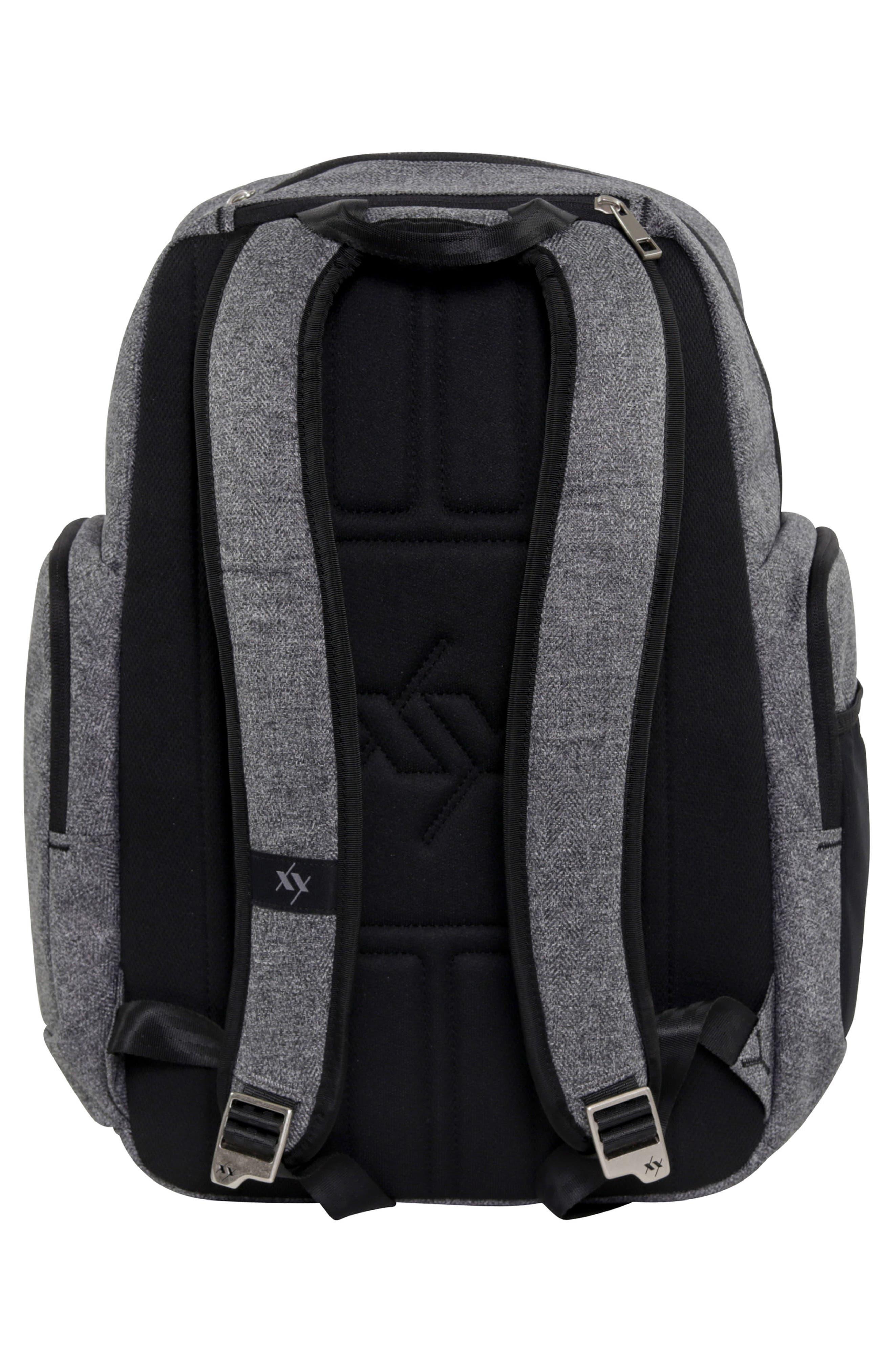 XY Vector Diaper Backpack,                             Alternate thumbnail 2, color,                             GRAY MATTER