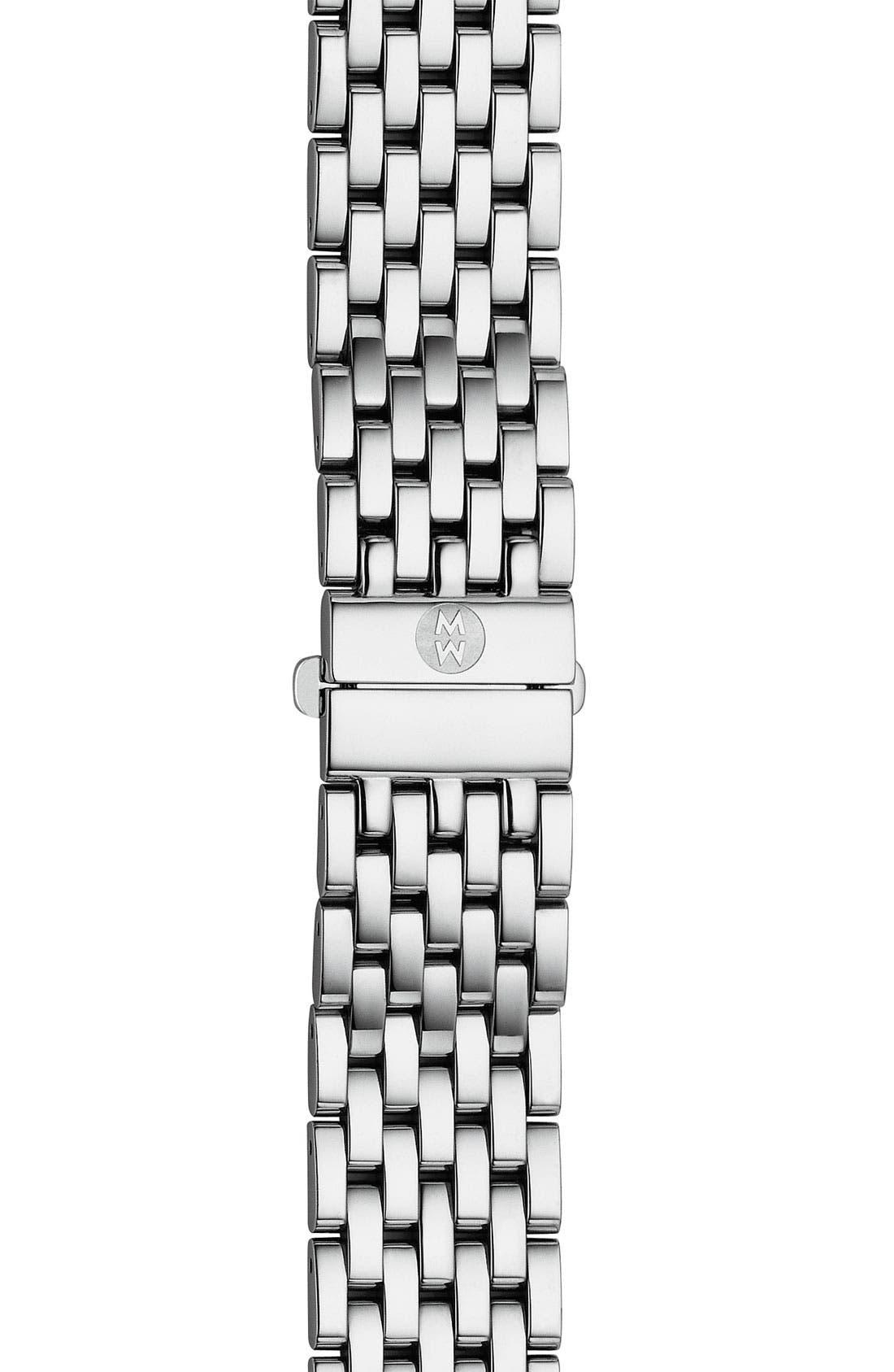 'Urban Mini Diamond' 16mm Bracelet Watchband,                             Alternate thumbnail 2, color,                             SILVER / DIAMOND