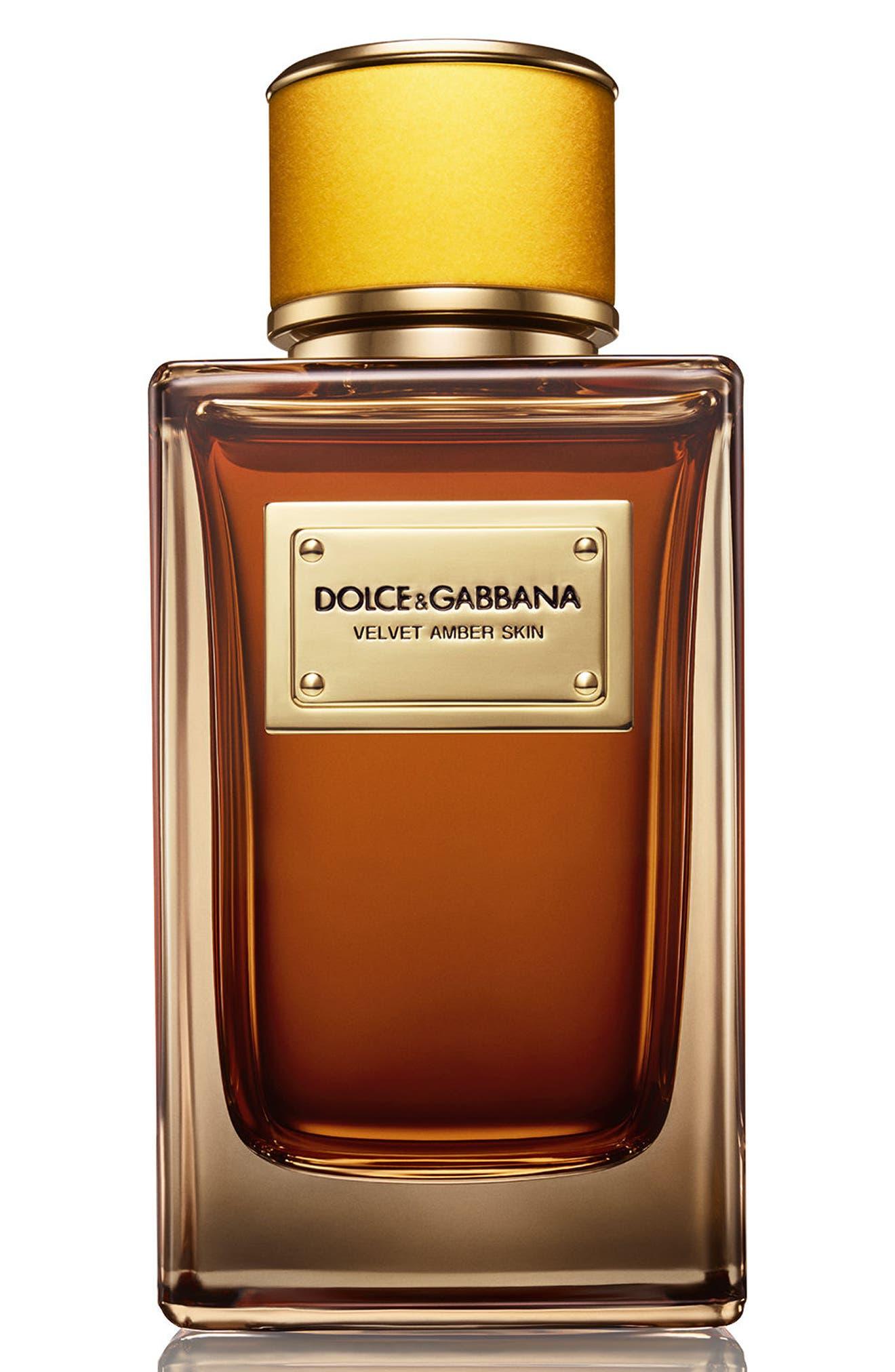 Dolce&Gabbana Velvet Amber Skin Eau de Parfum,                             Main thumbnail 1, color,                             NO COLOR